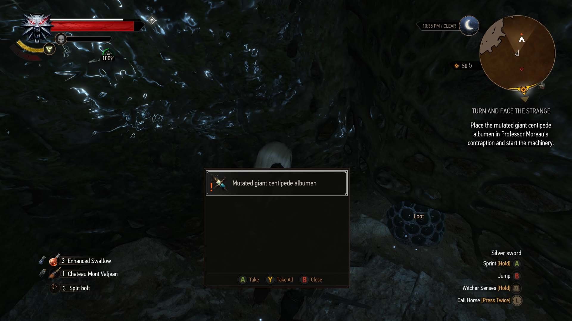 The Witcher 3: Blood and Wine walkthrough: Turn and Face the