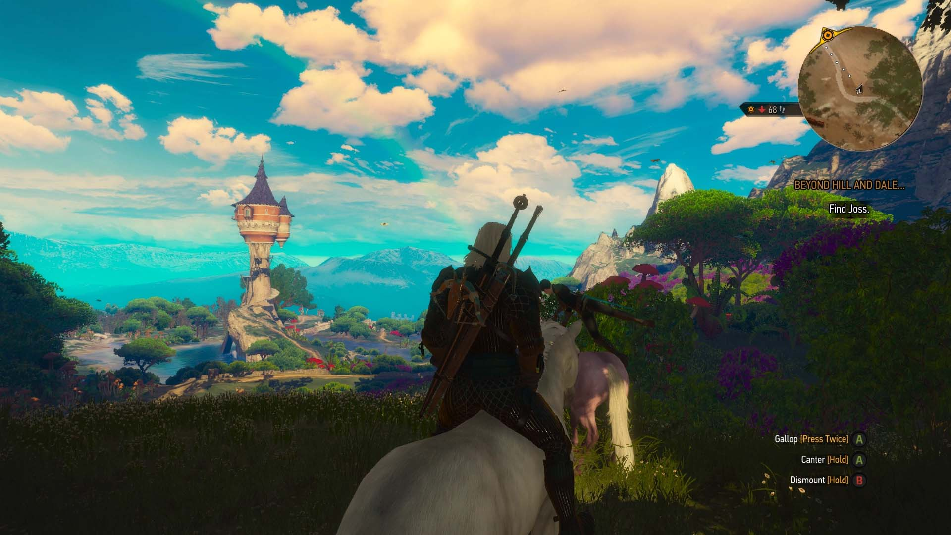 The witcher 3 blood and wine walkthrough beyond hill and dale youll meet pixies and wolves along the way they arent too difficult to take care of find the boy who cried wolf after killing the wolves solutioingenieria Gallery