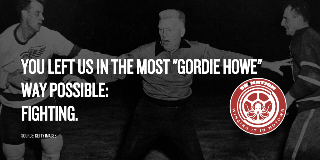 a eulogy for one of the greatest athletes of all time gordie howe a hockey legend winging it in motown