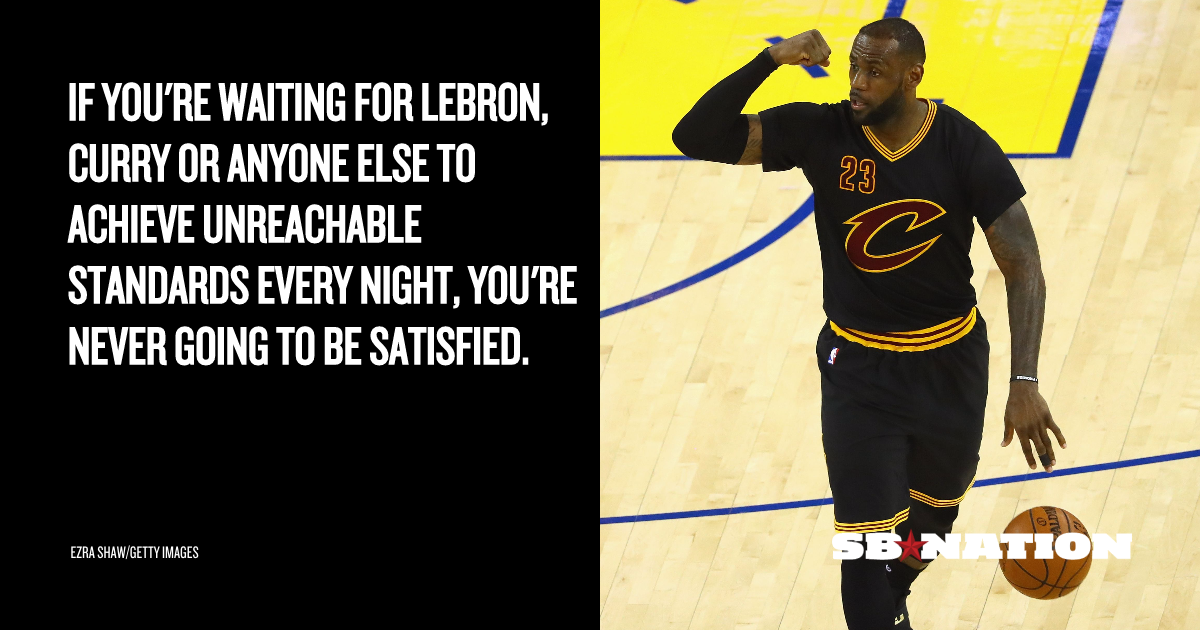 Why LeBron James can't always play 'like that' - SBNation.com