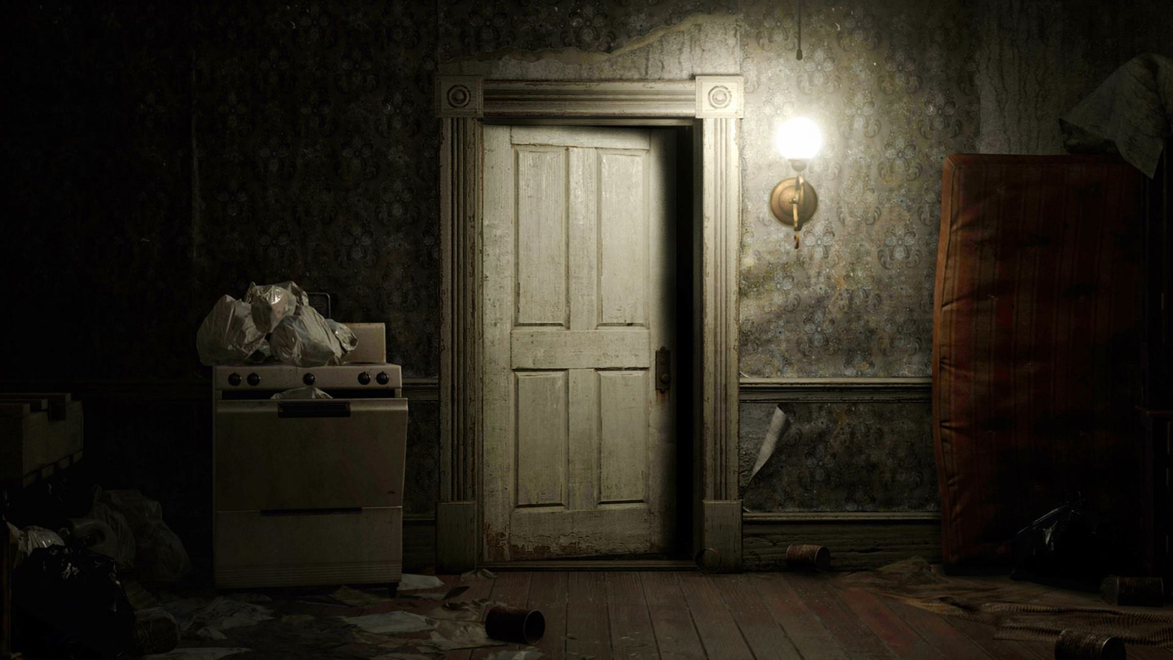 I Cried For You On The Kitchen Floor To Make Resident Evil 7 Less Scary Capcom Says You Should Make