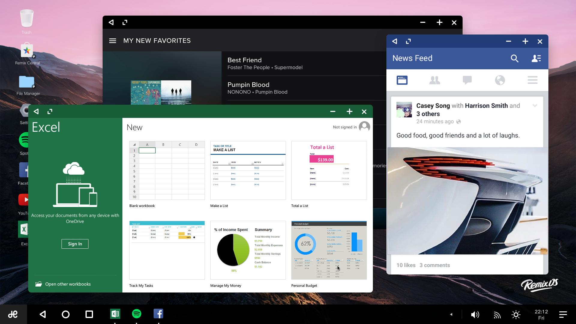Remix OS for PC upgraded to Marshmallow, supports more ...