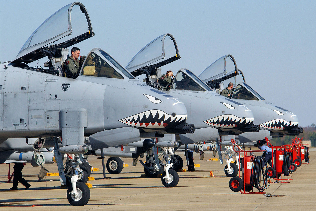 Air Force finally got to wear awesome fighter plane shark ...