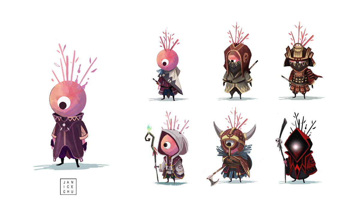 Game Character Design Website : How video game concept artist janice chu finds inspiration