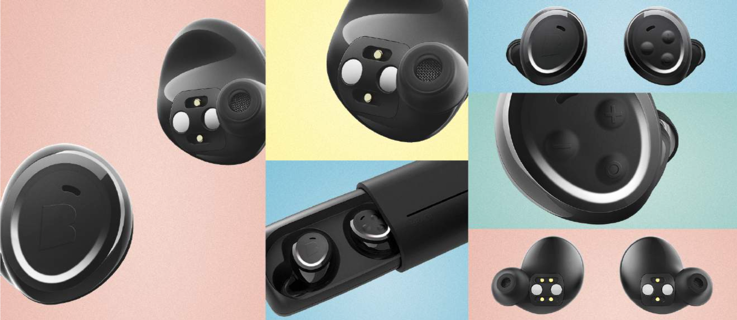 bragi s new wireless earbuds are simpler and a lot cheaper the verge. Black Bedroom Furniture Sets. Home Design Ideas