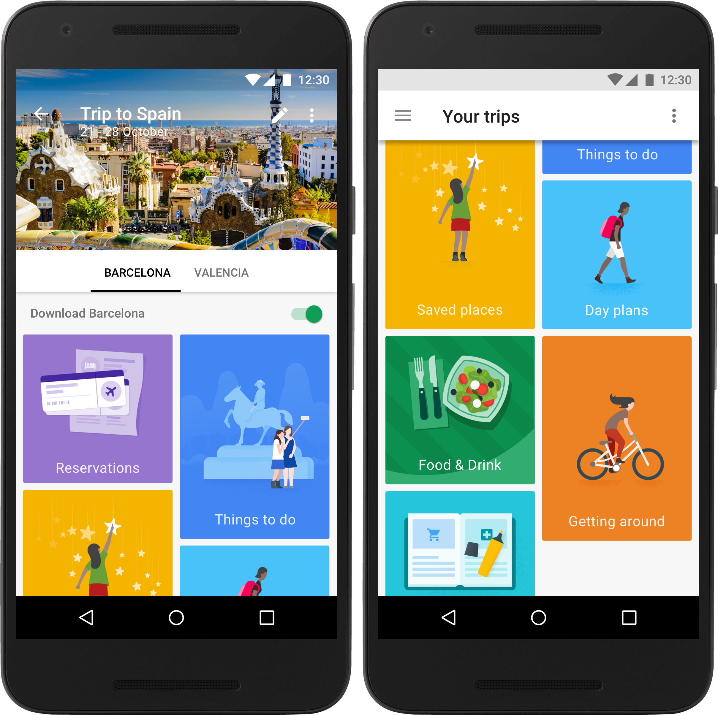 google trips is a killer travel app for the modern tourist the verge trips requires you to log in your google account you can switch back and forth between a personal and work google account if you have them