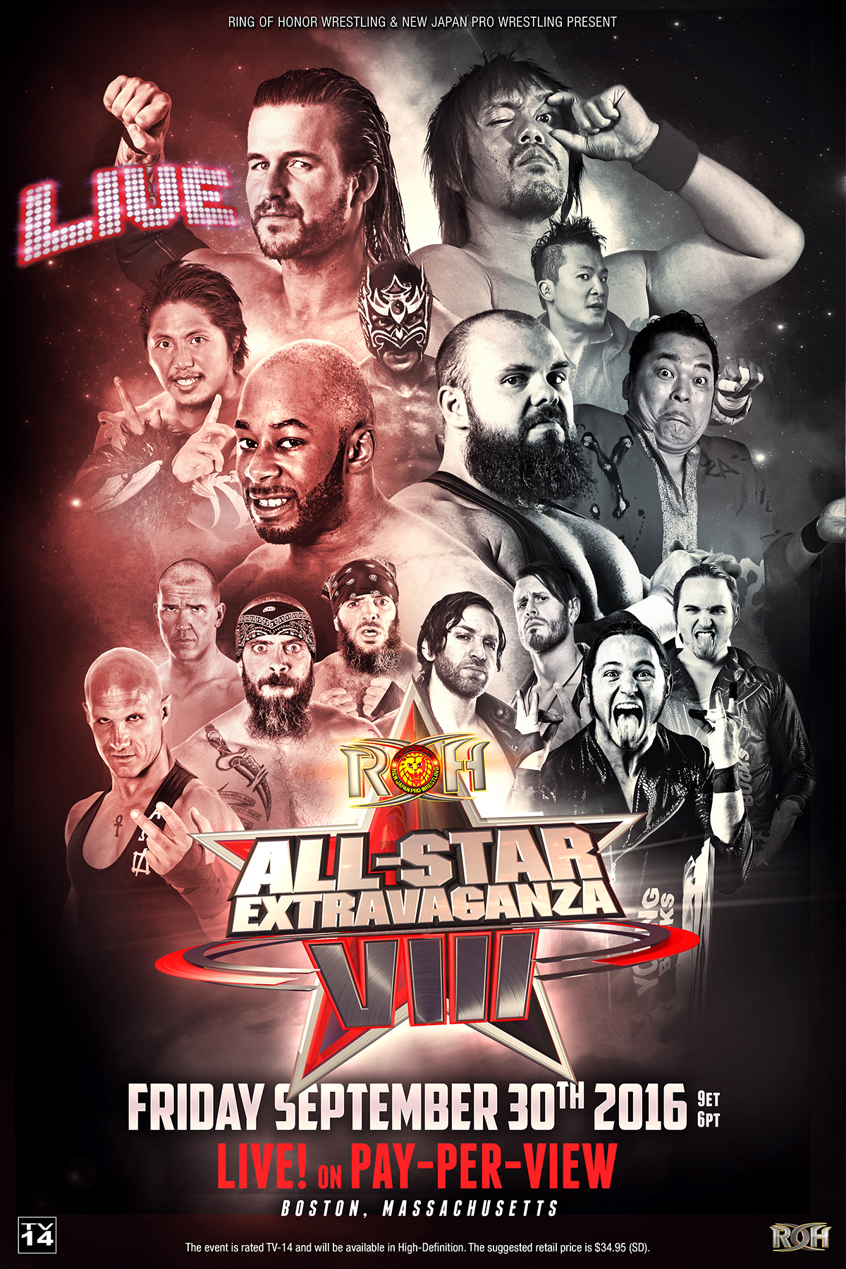 ROH All Star Extravaganza 2016