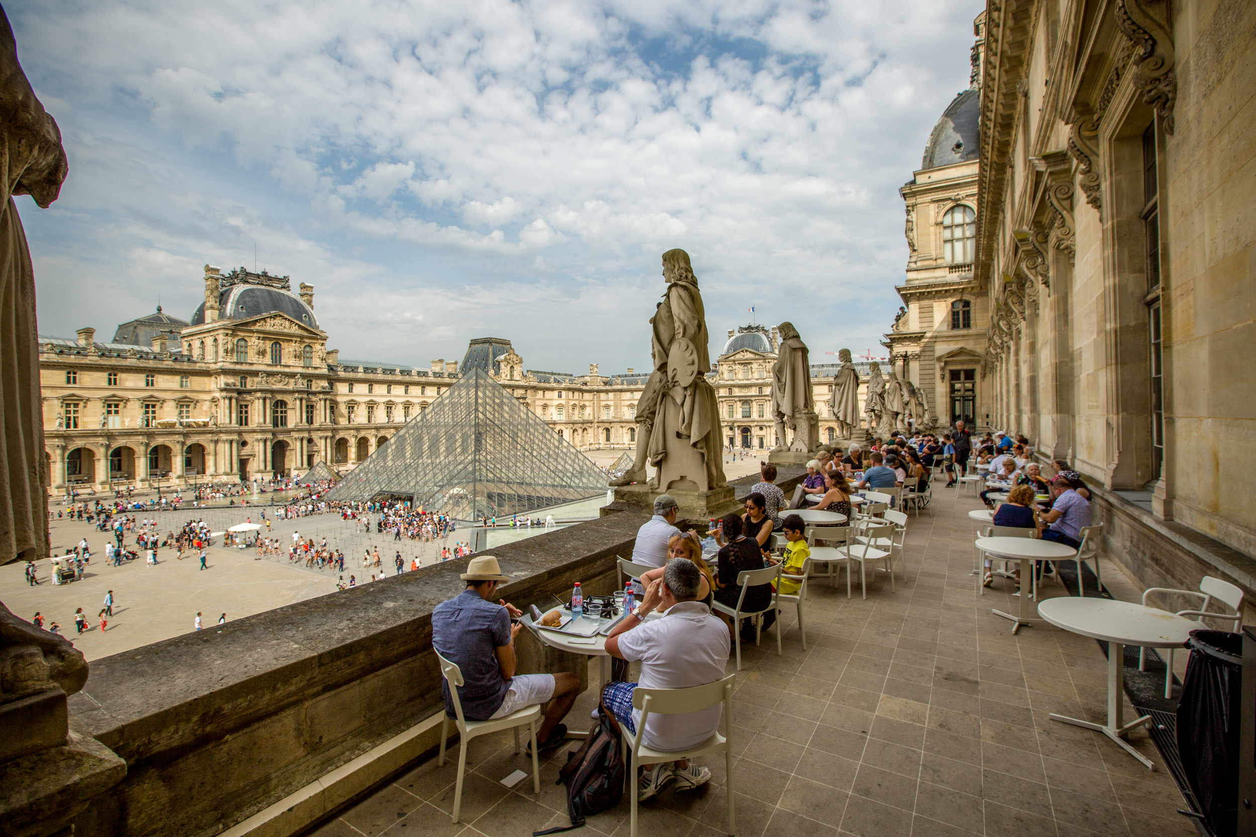 Where To Eat At The Louvre