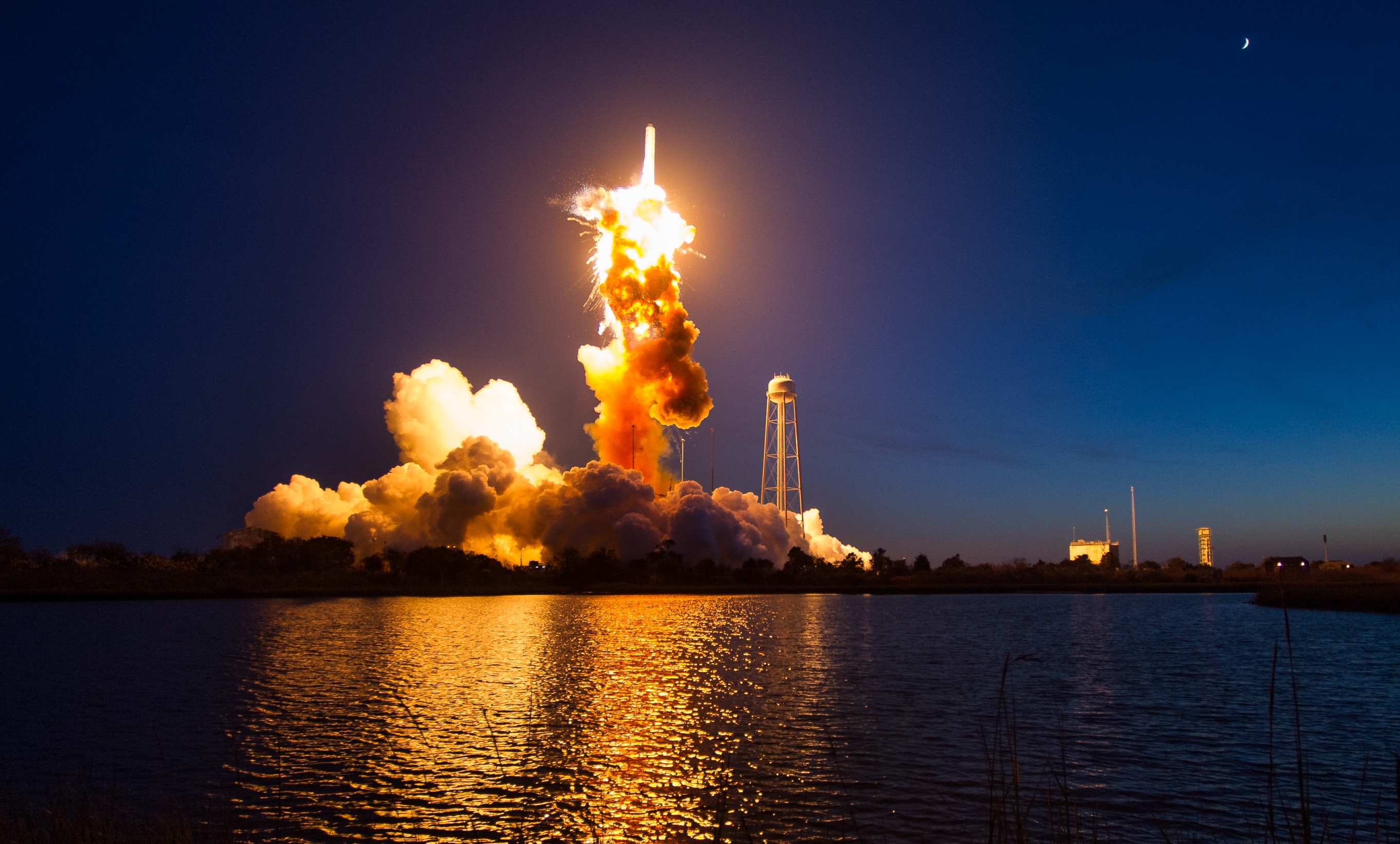 Orbital ATK to launch Antares rocket this weekend — two ...