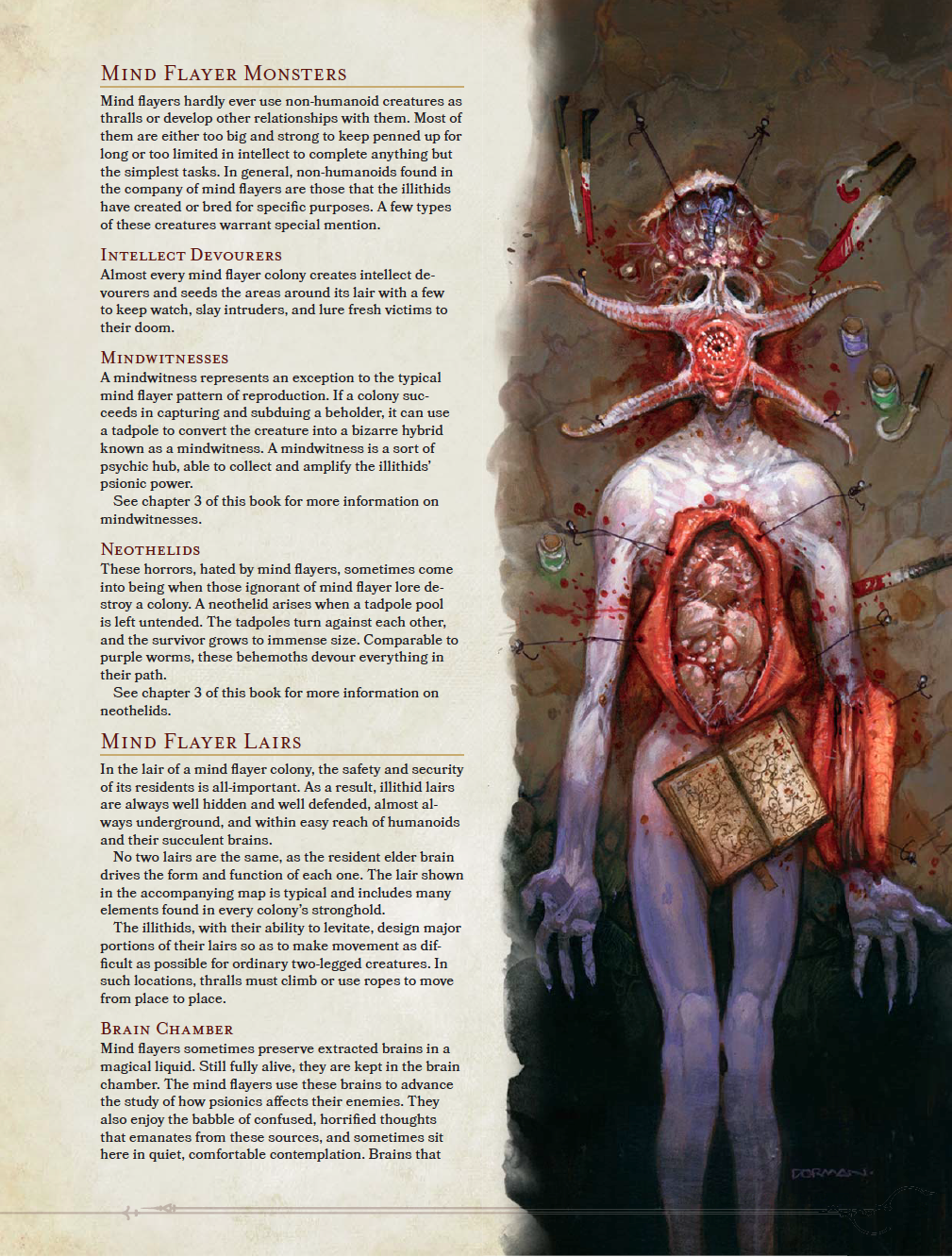 Anatomy of an Illithid