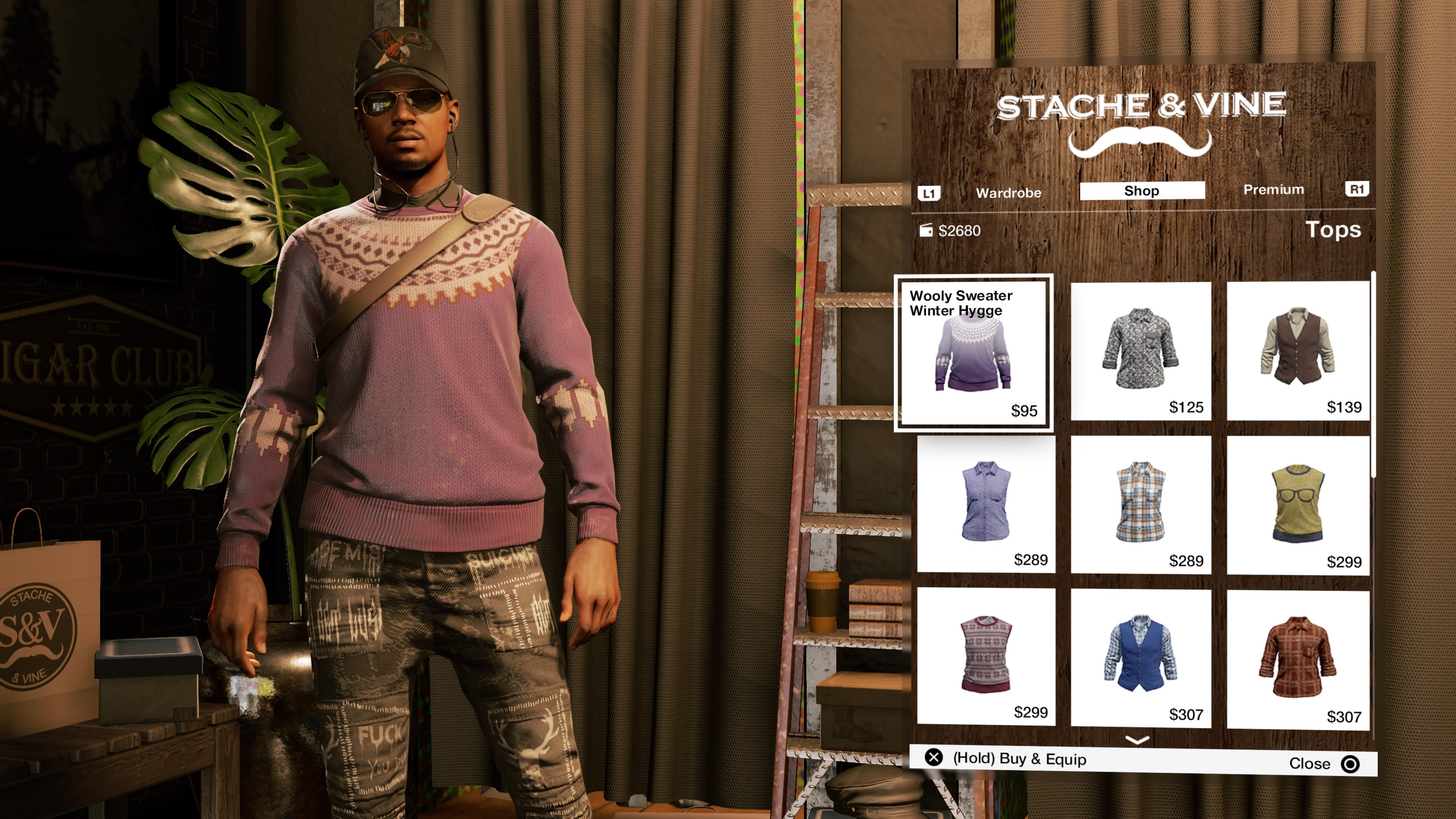 Watch Dogs  White Hat Outfit