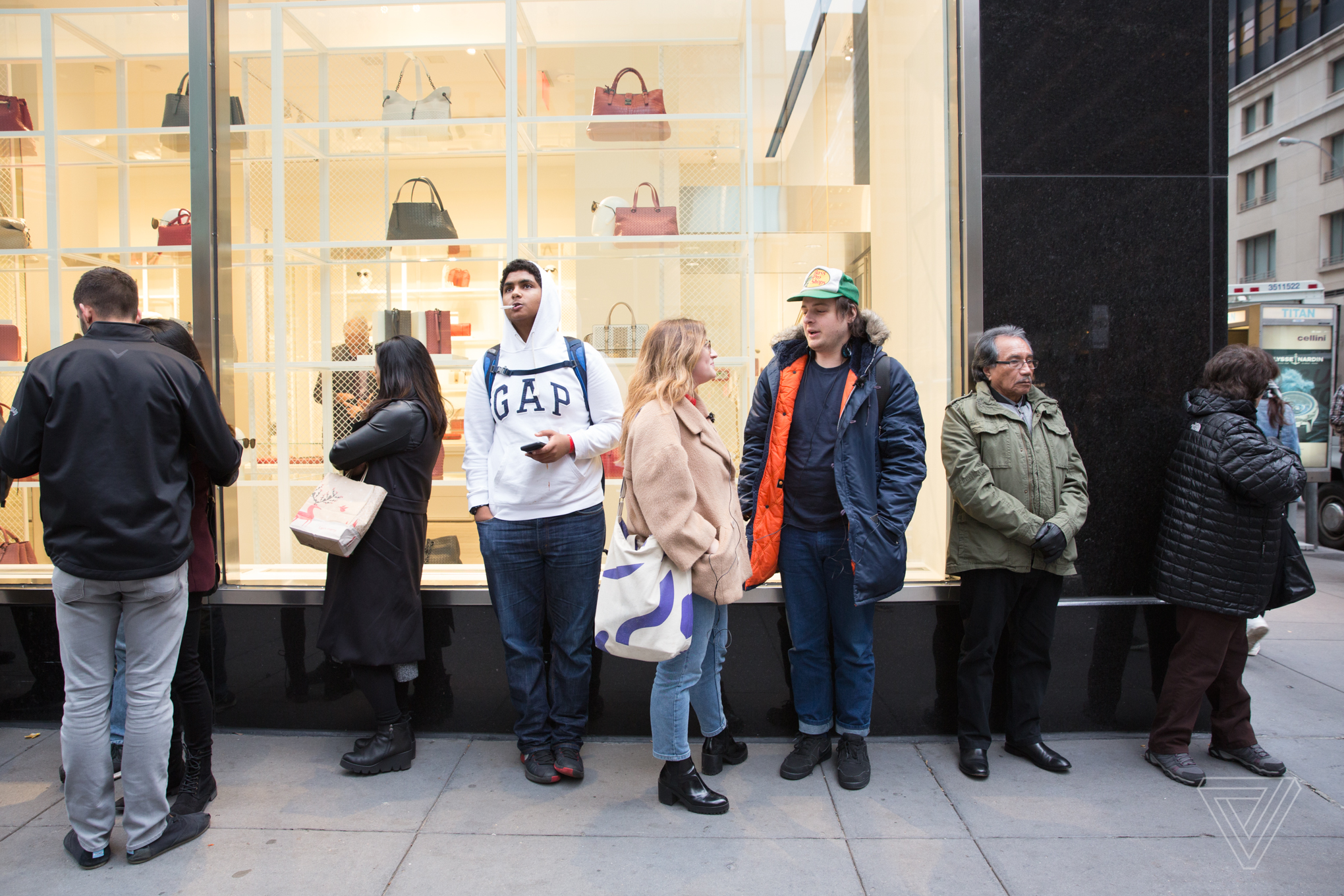 Shoppers lined up as early as 4AM to get a pair of Snapchat Spectacles at the pop-up shop on 59th Street in New York City.