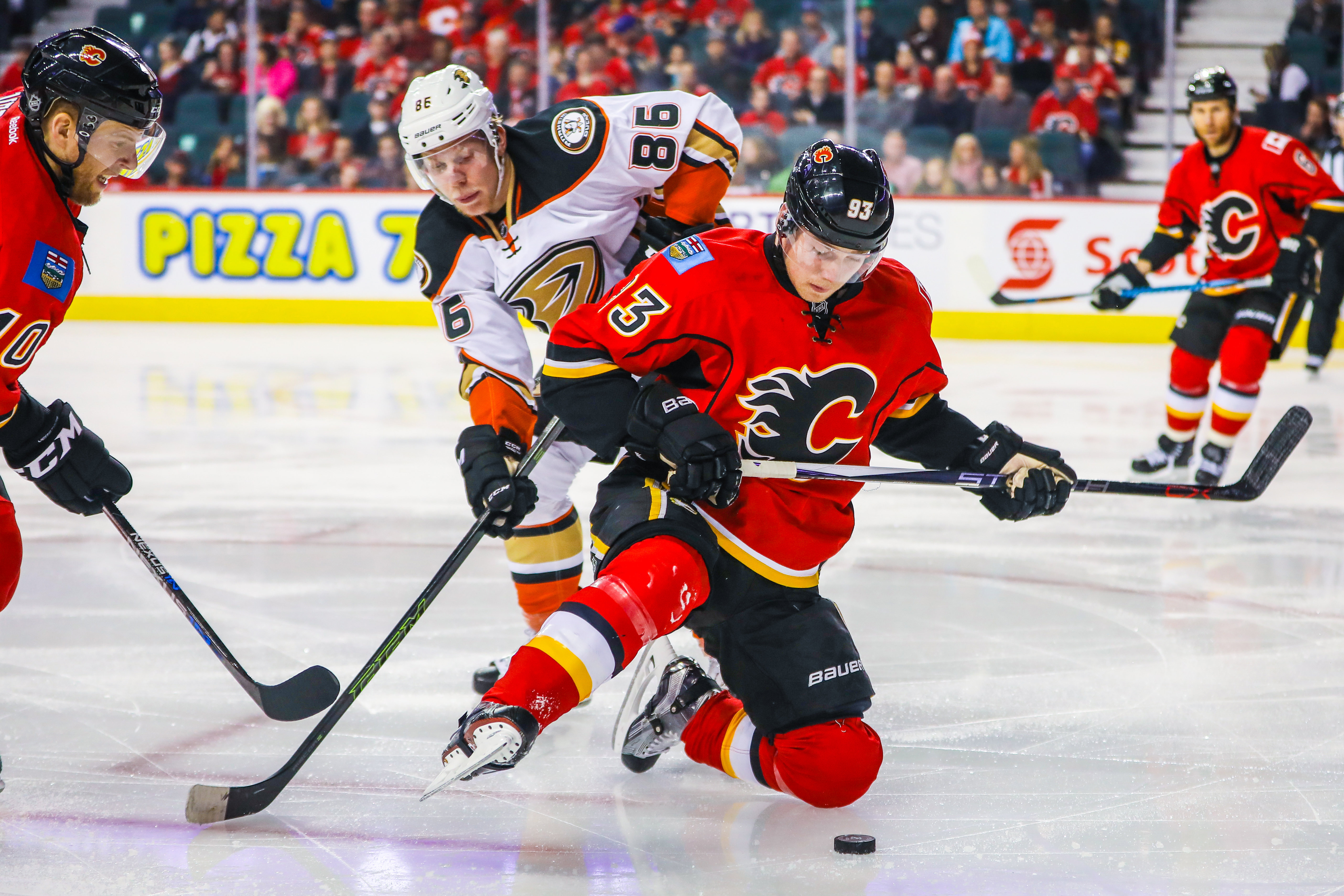 Recap: Calgary Flames (8) Vs Anaheim Ducks (3