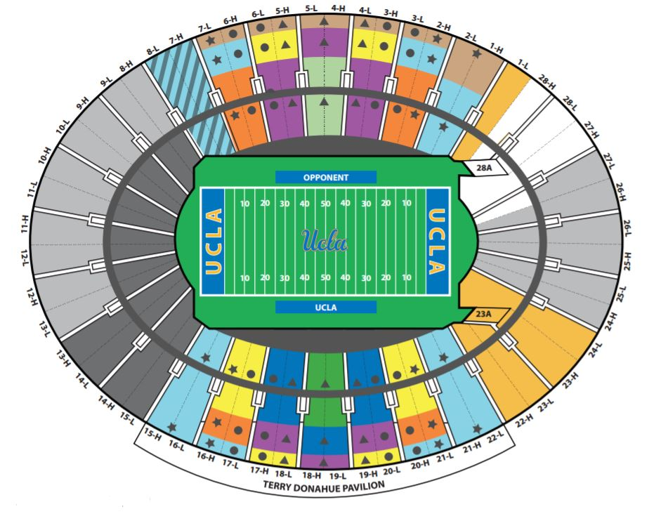 rose bowl seating map with Ucla Football Tweaks Visitor Fan Seating At The Rose Bowl on Soldier Field Concert besides Ucla Football Tweaks Visitor Fan Seating At The Rose Bowl in addition Bridgestone Winter Classic Update Will My Seats Suck additionally Parkmap together with Map bowl.