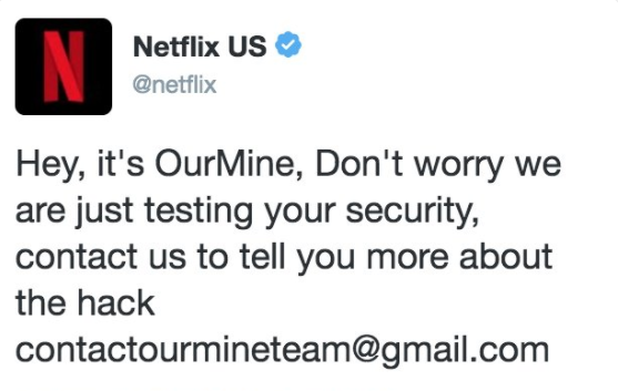 Netflix US Twitter account hacked
