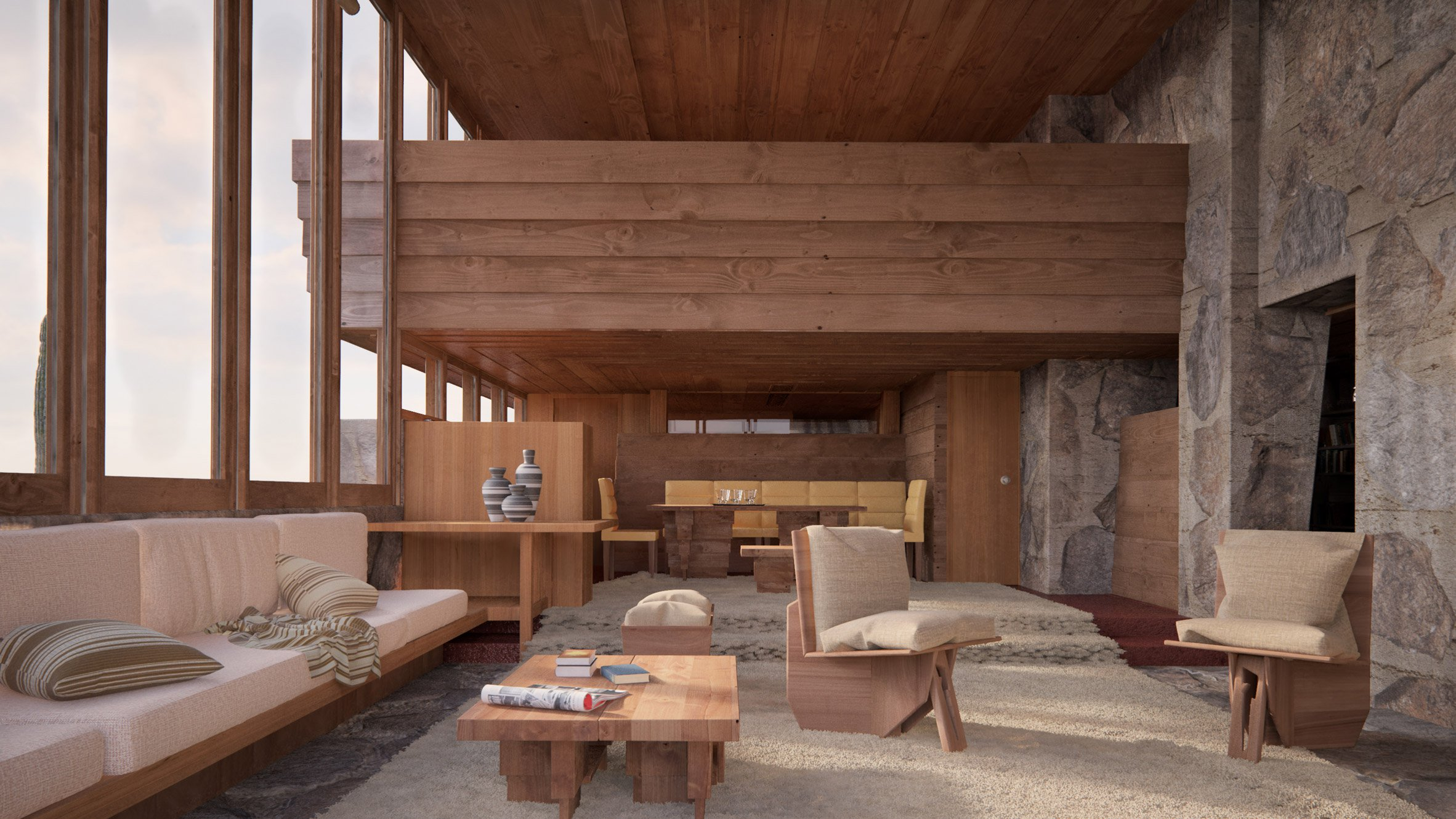 two frank lloyd wright buildings lost to time revived in