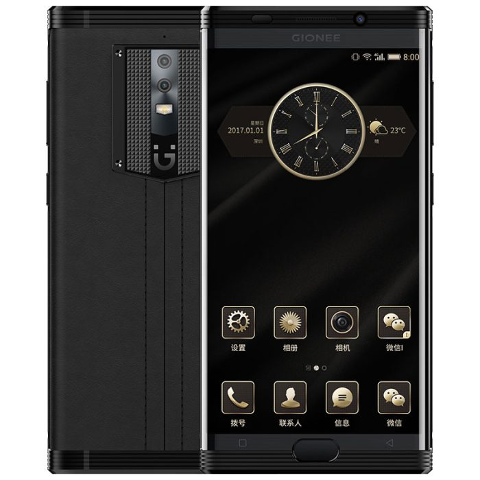 This Luxury Android Phone Packs A 7000mAh Battery And