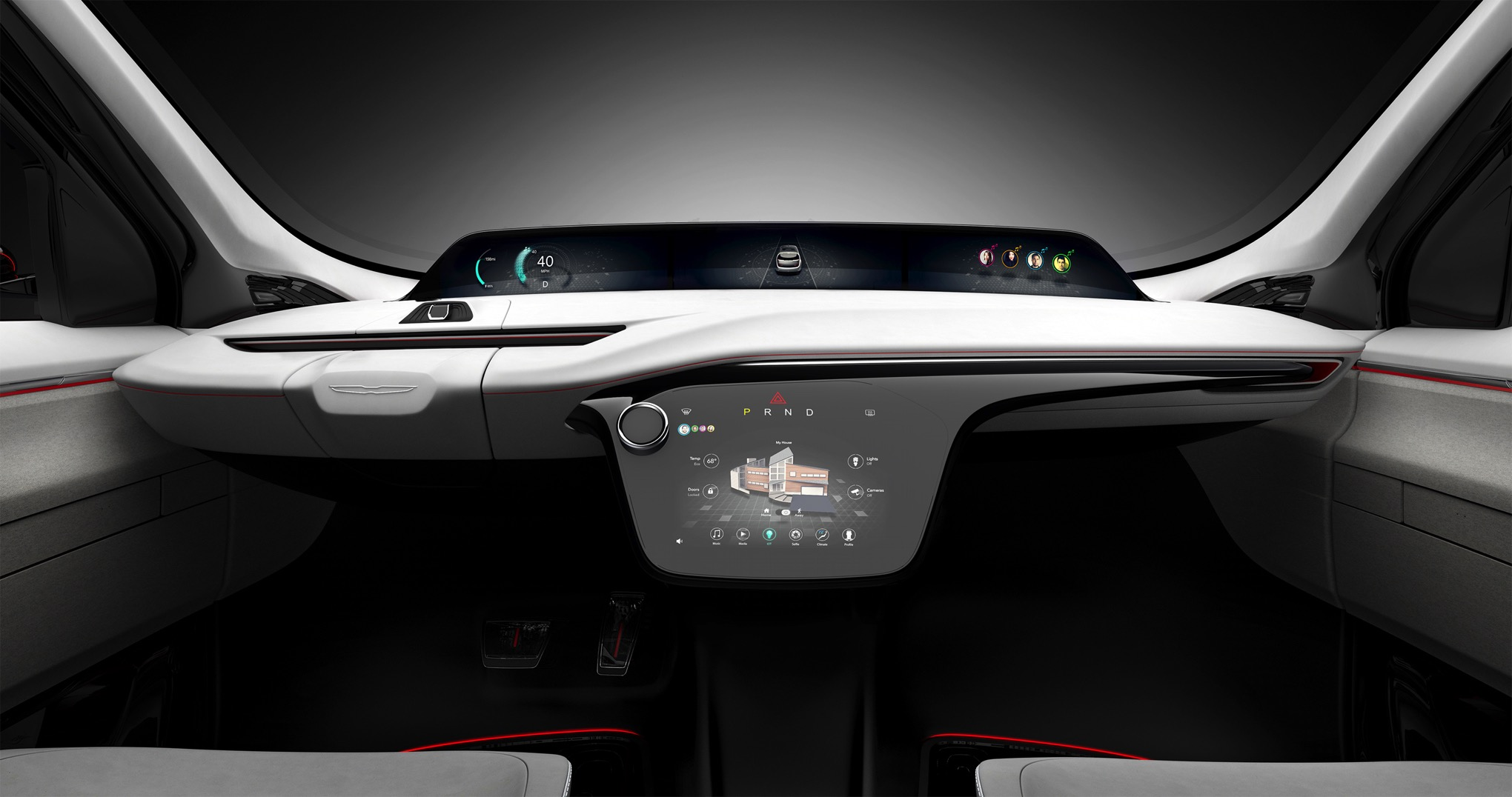 the chrysler portal is the all electric self driving minivan for your futuristic family the verge. Black Bedroom Furniture Sets. Home Design Ideas