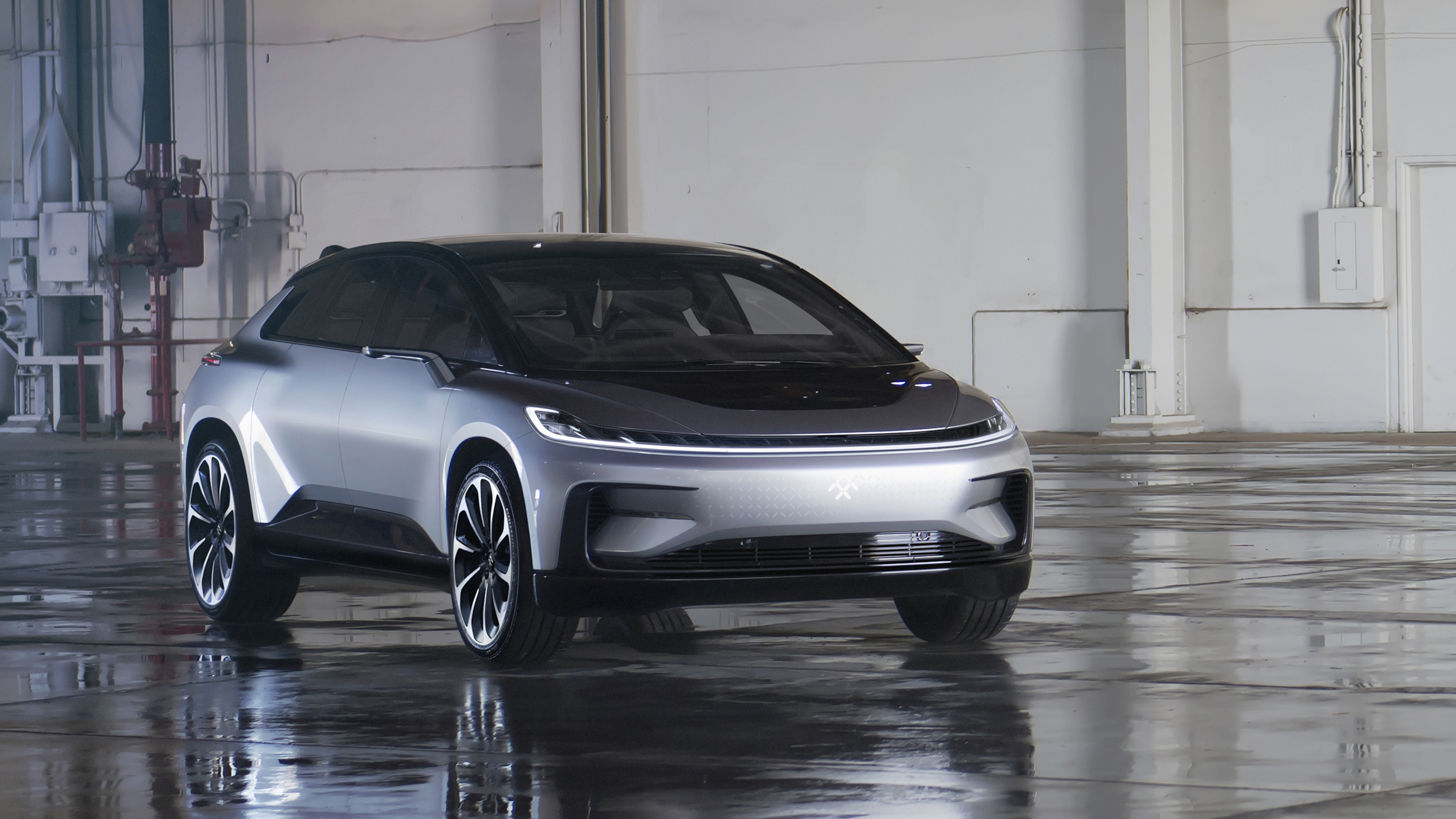 faraday future s first car the ff91 is here   the verge