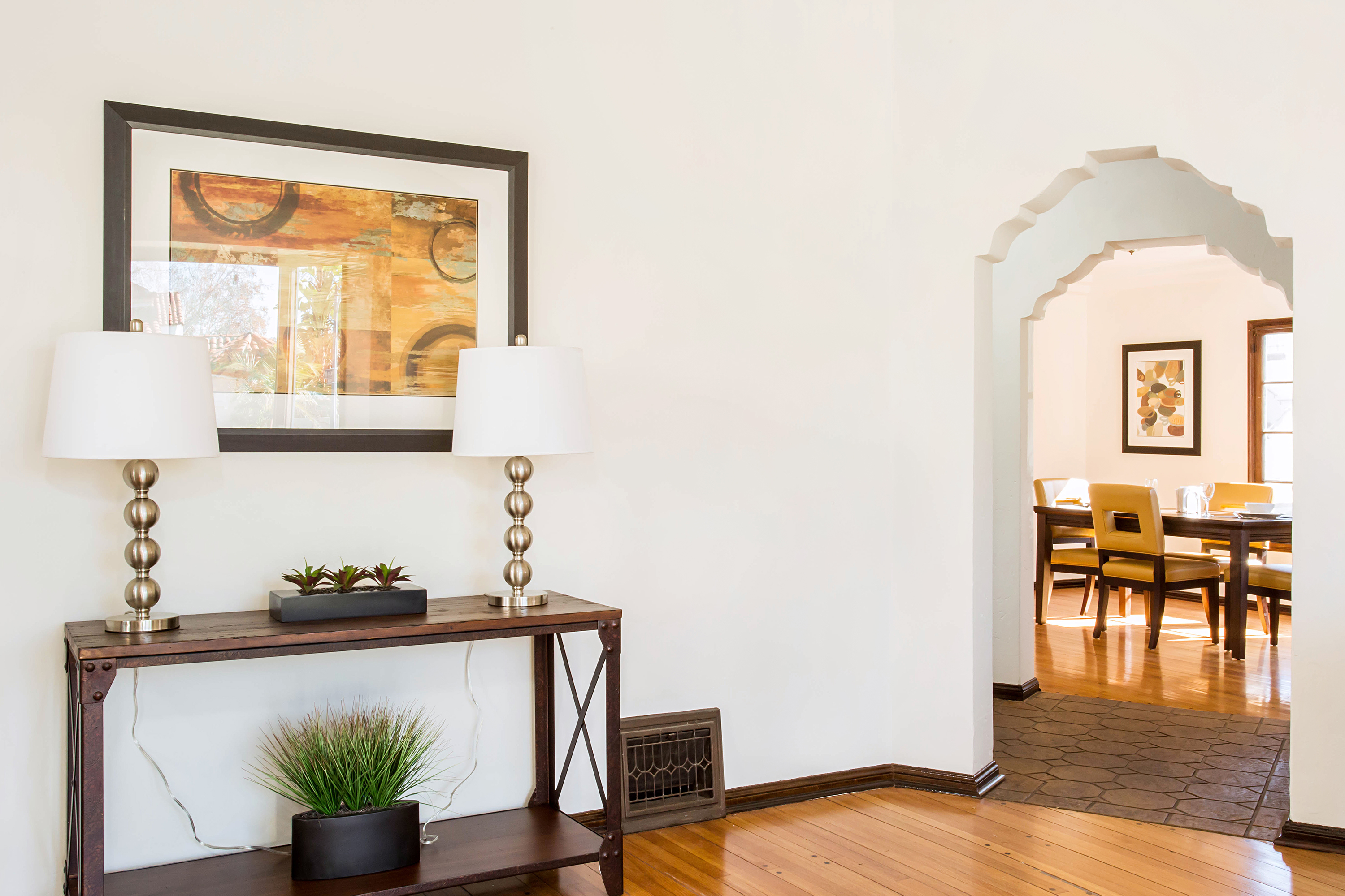 Dreamy spanish style house in leimert park with exposed for Spanish style homes for sale near me
