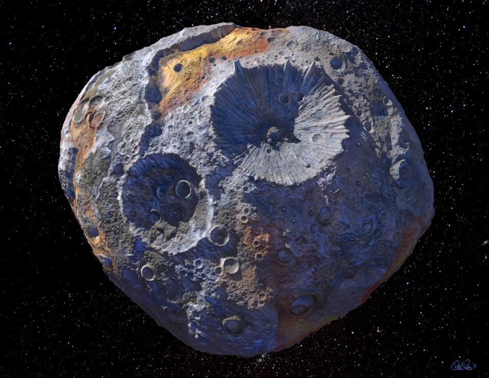 NASA's Psyche and Lucy to visit metal and Trojan asteroids
