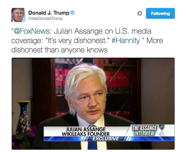 sentences trump assange russia
