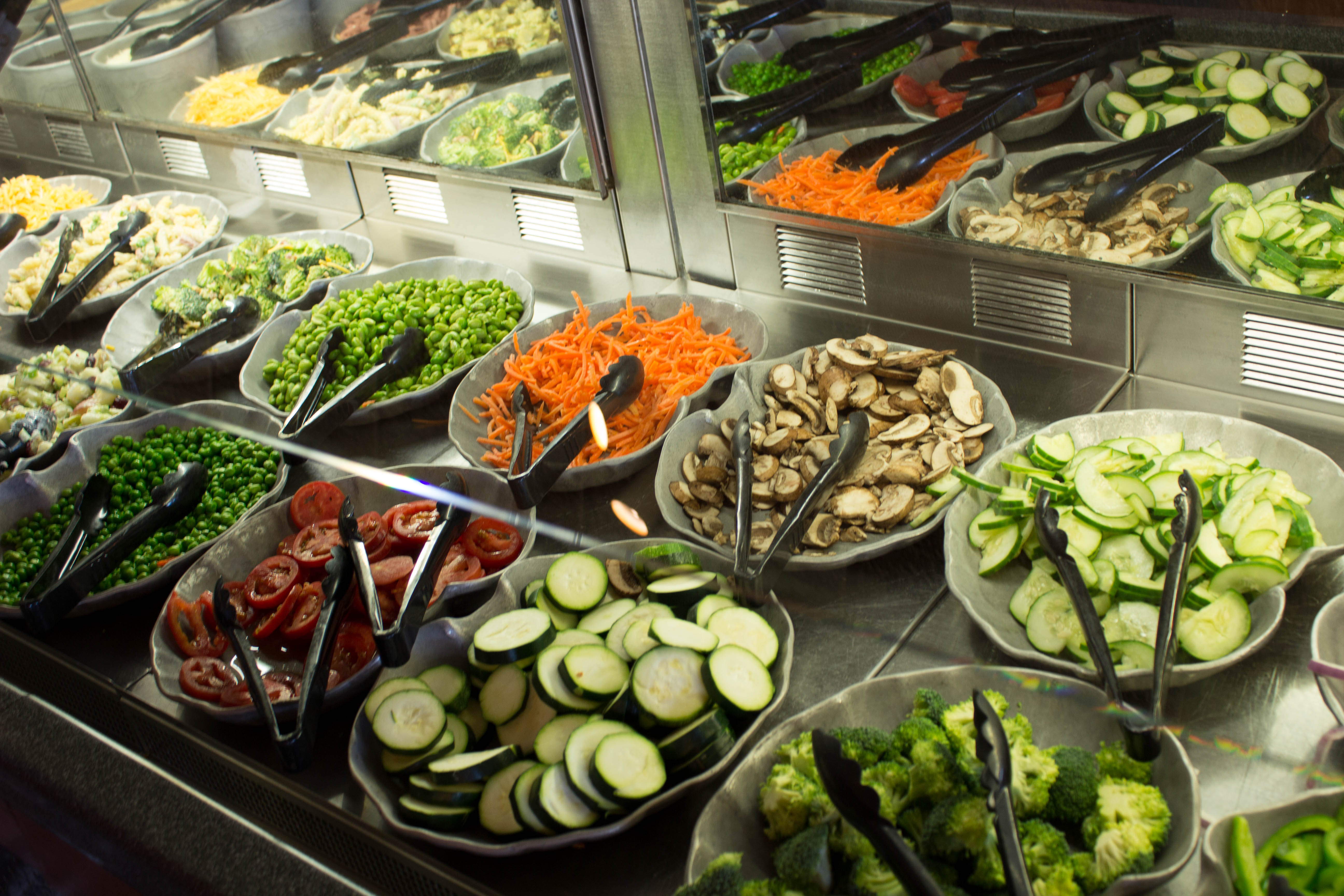 The Beauty And Bounty Of The Steakhouse Salad Bar Eater