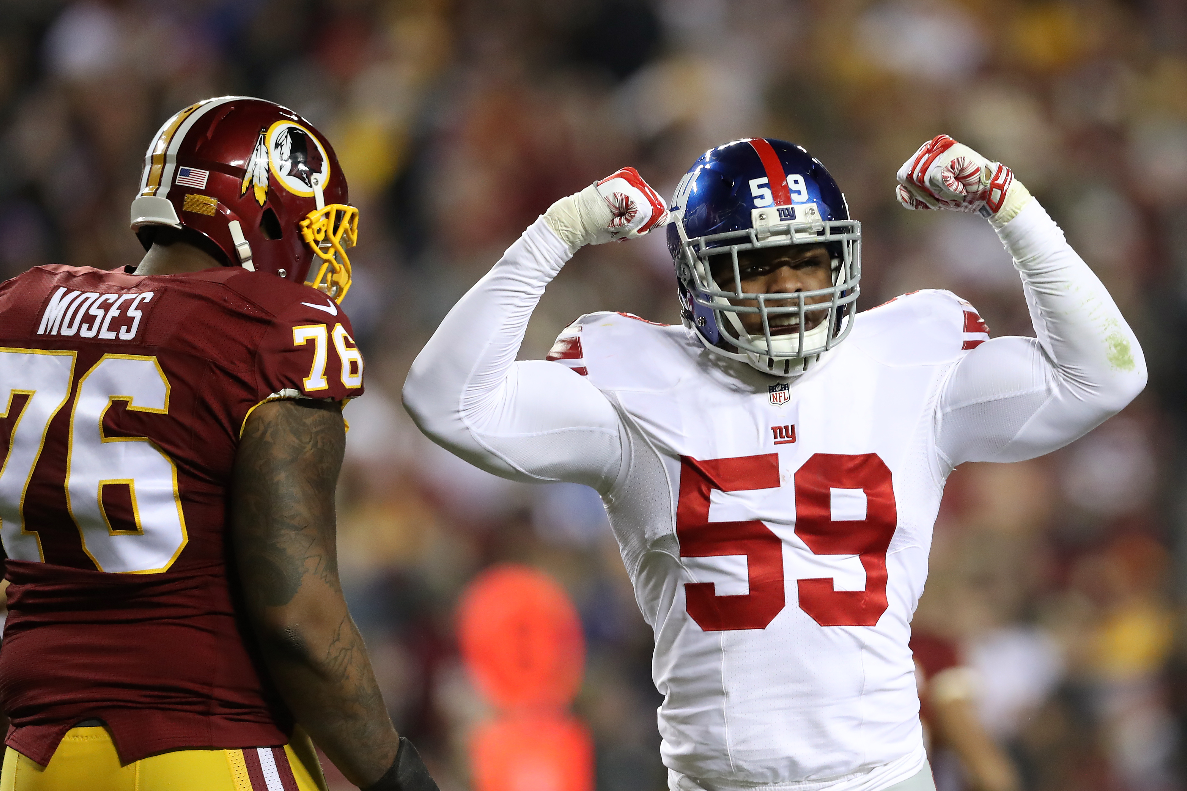 Giants primed for challenge of facing Rodgers