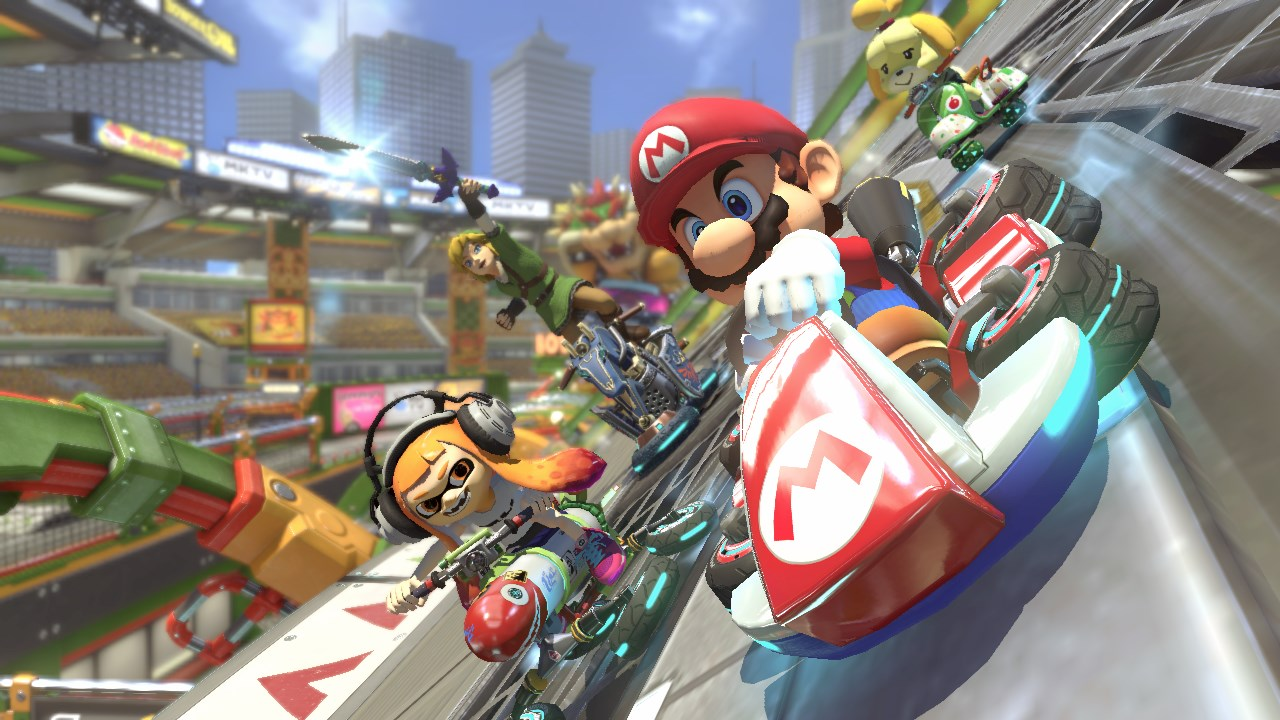 mario kart 8 on switch s upgrades make it worth picking up again polygon. Black Bedroom Furniture Sets. Home Design Ideas