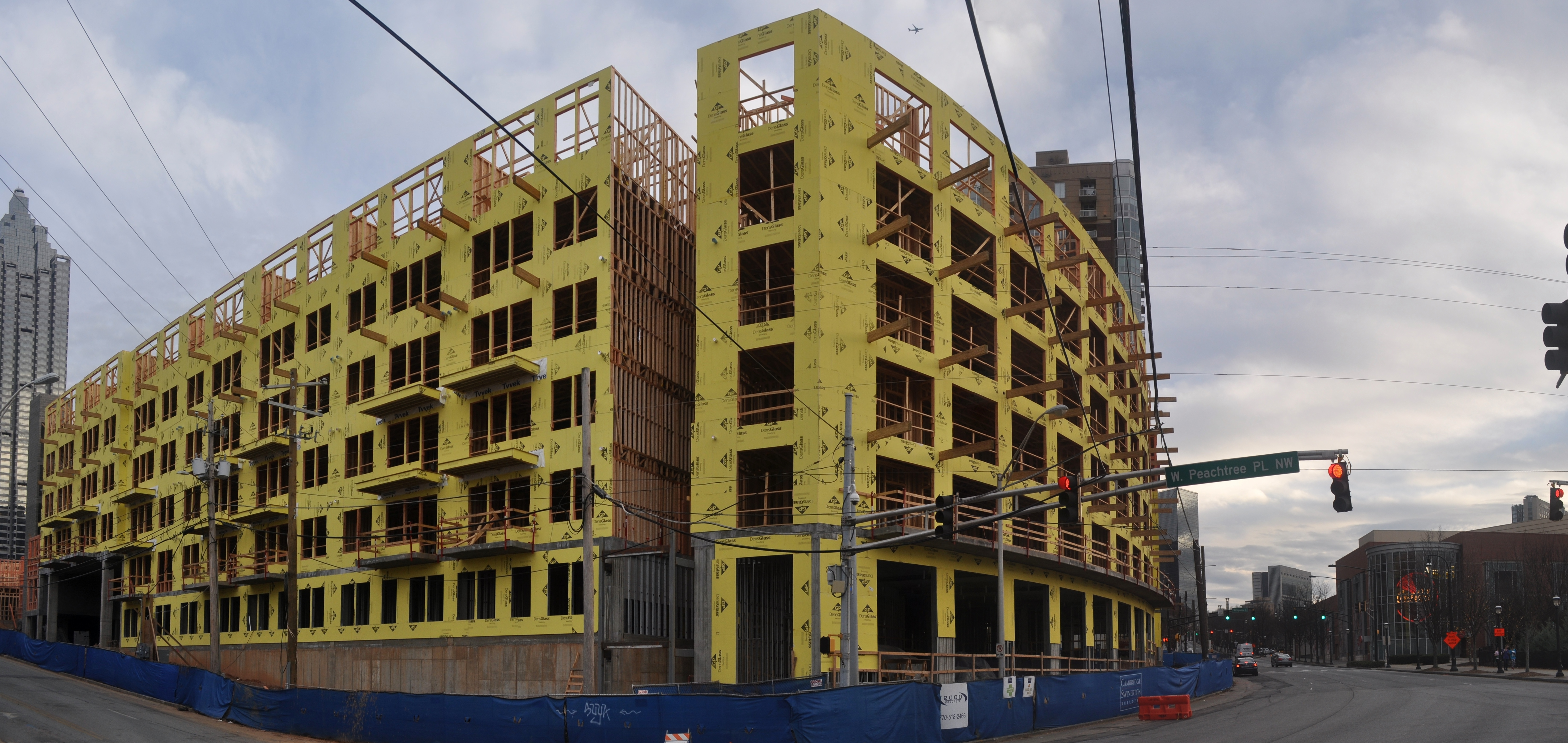 Downtown S First New Apartment Project In Years Rising At