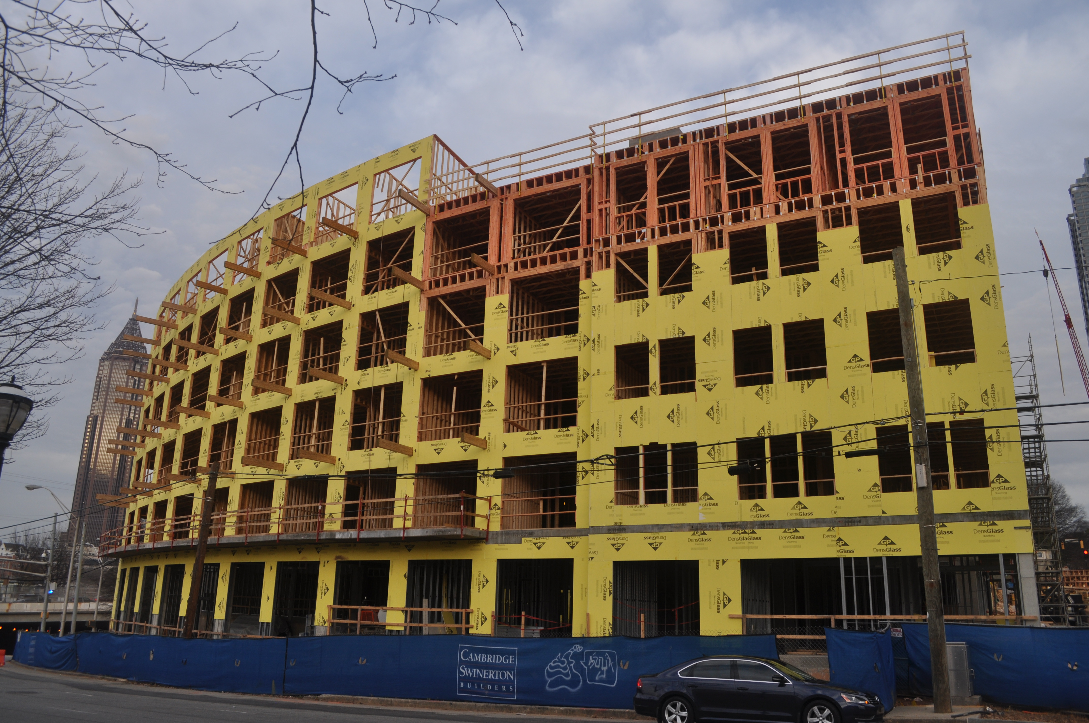 Downtown\'s first new apartment project in years rising at Centennial ...