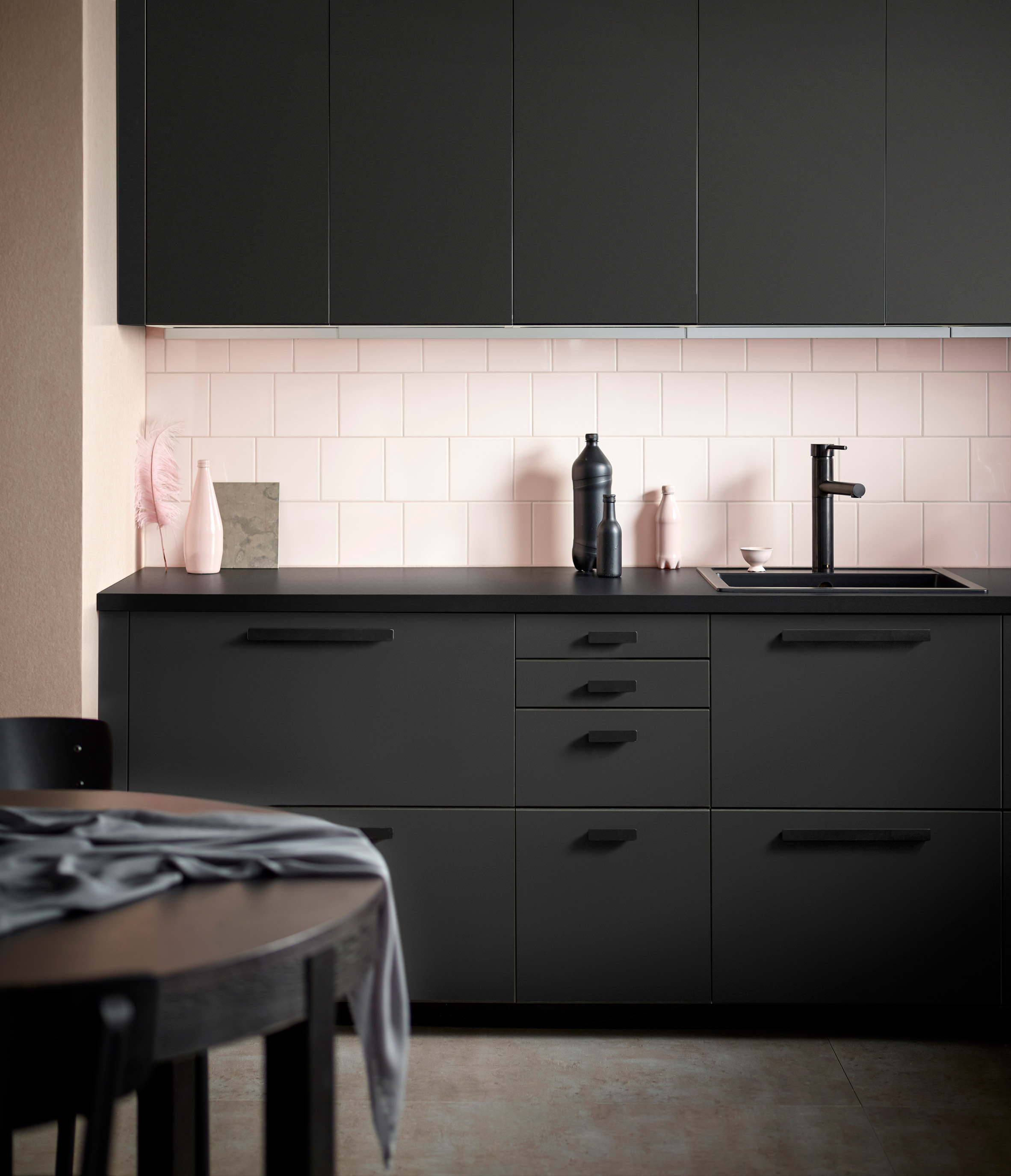 Ikea s new kitchen system is made from plastic bottles curbed - Decoration cuisine ikea ...
