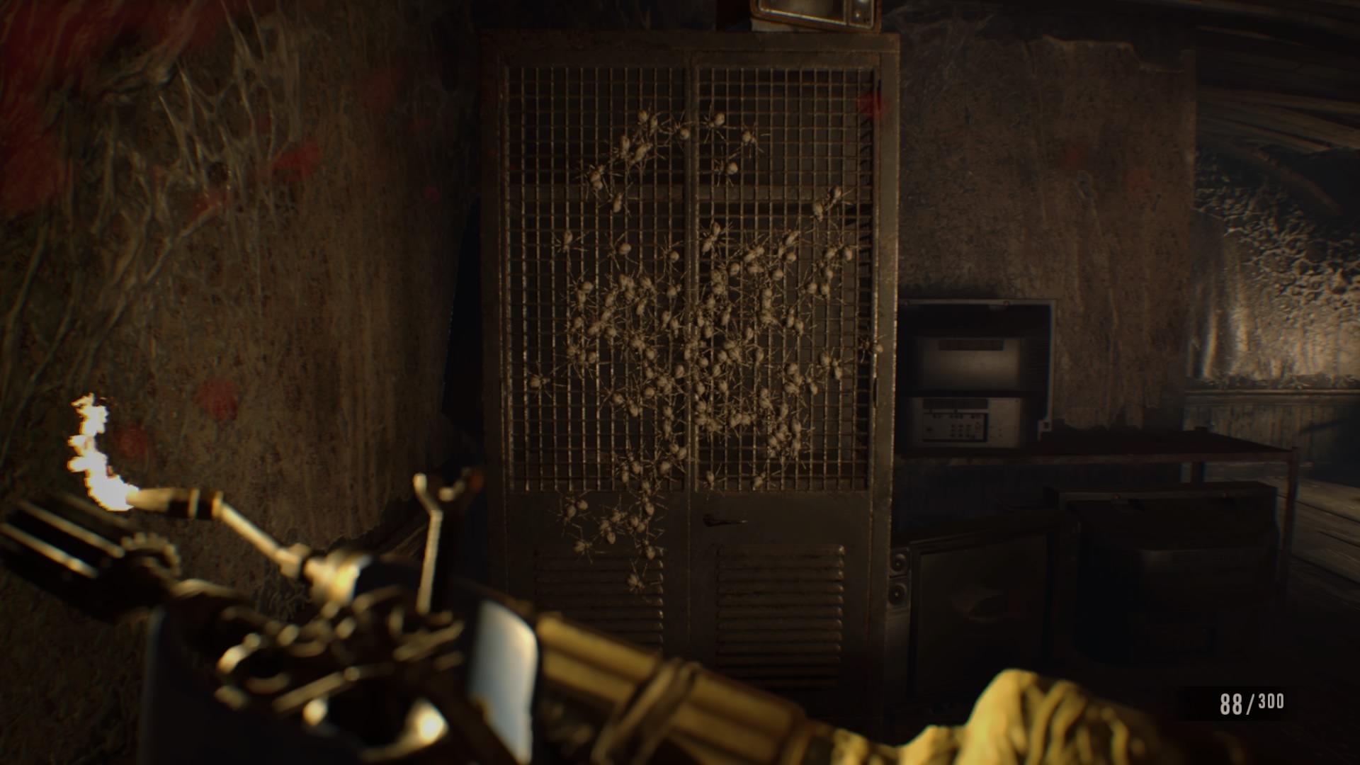 Resident Evil Do Head Living Room