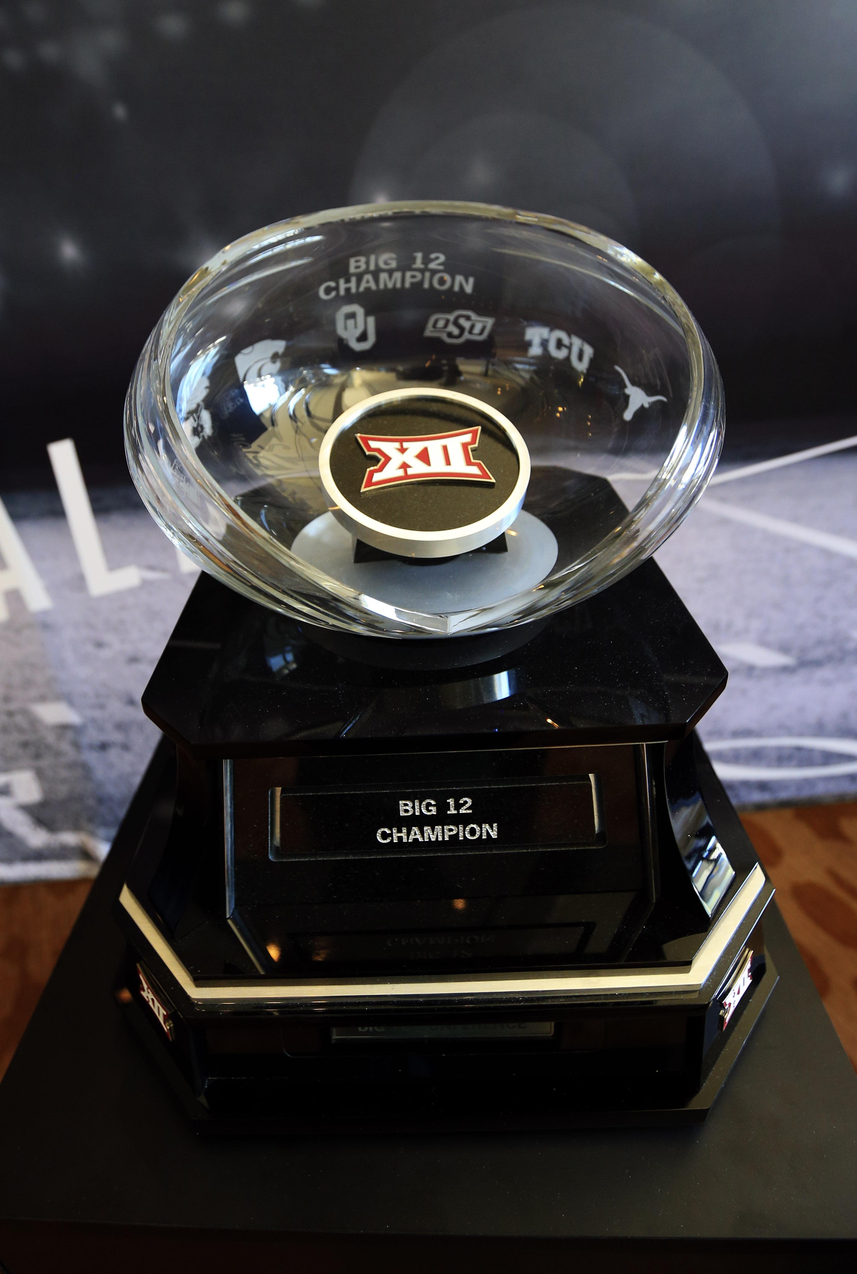 Oops Oklahoma Broke One Of Its Many Big 12 Championship