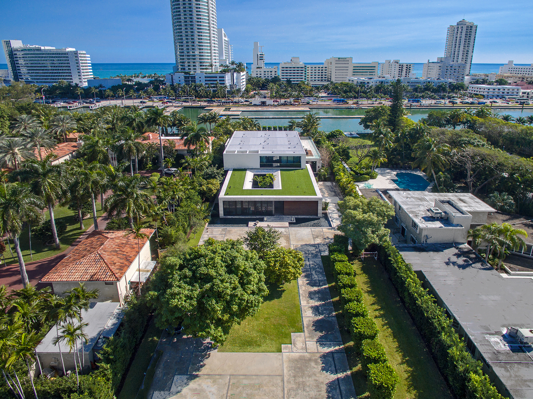 Beautiful Miami Beach contemporary asks $23M
