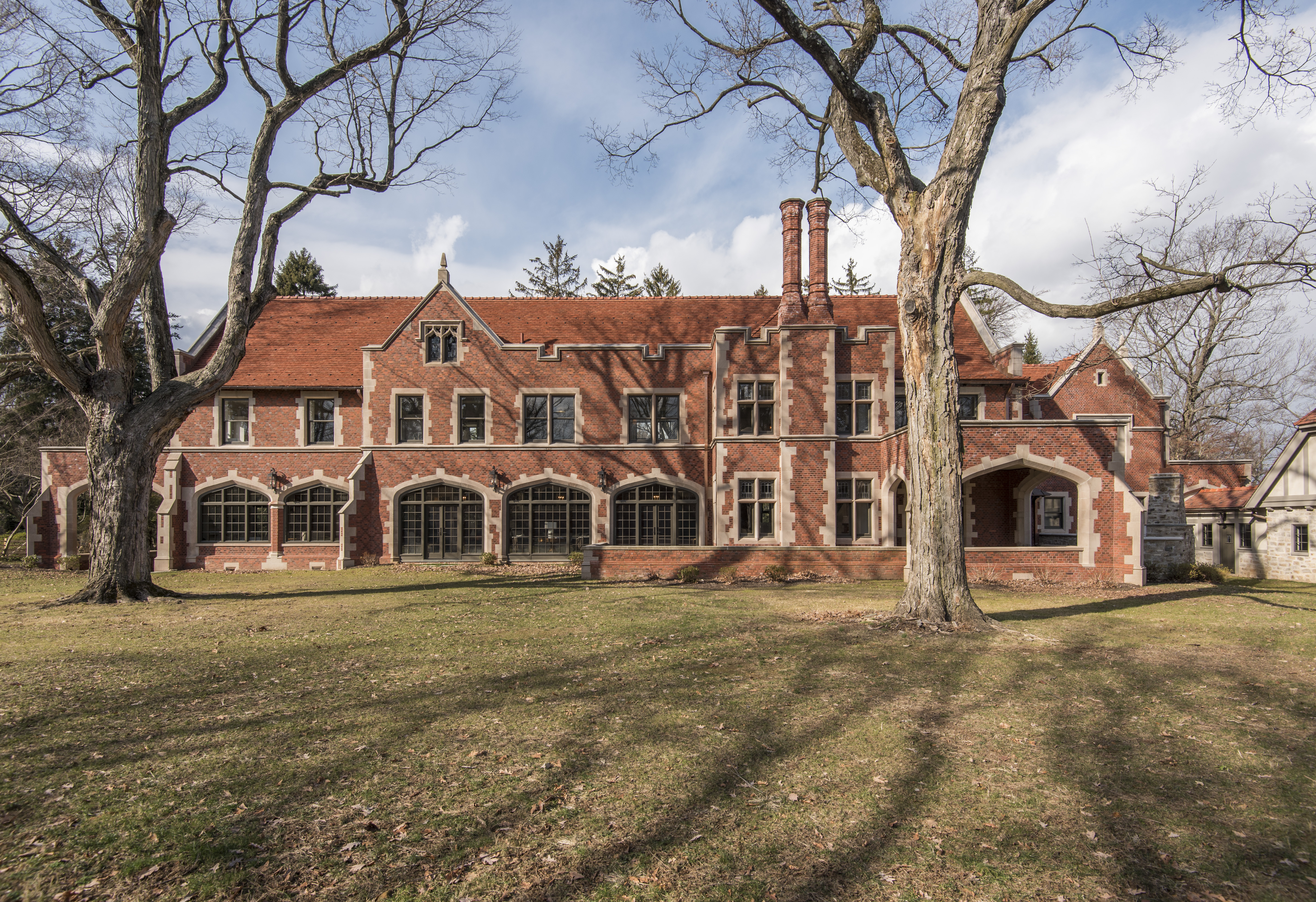 Wayne Mansion Re Lists With New Price Tag Listing Photos