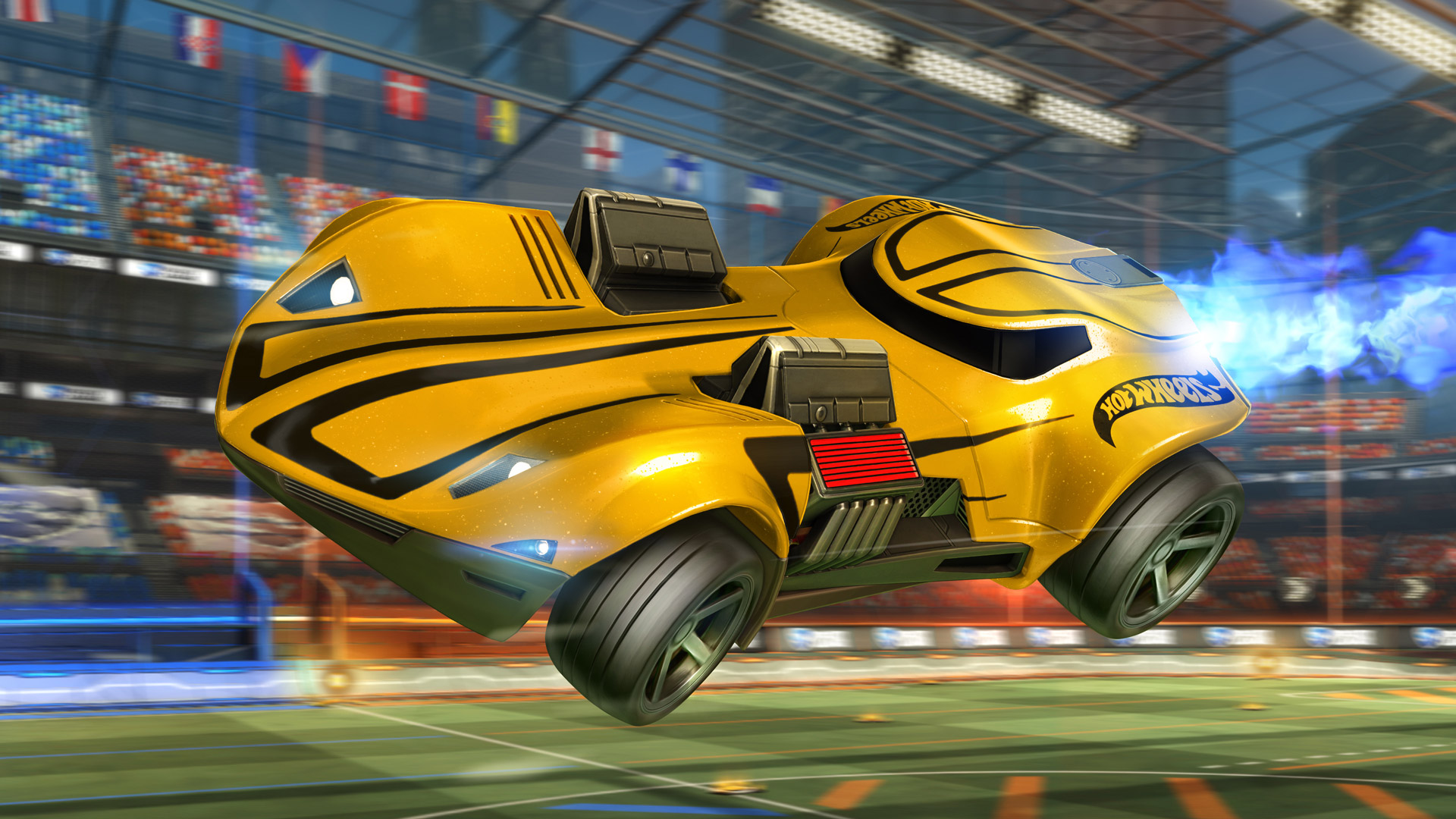 rocket league getting hot wheels cars polygon. Black Bedroom Furniture Sets. Home Design Ideas