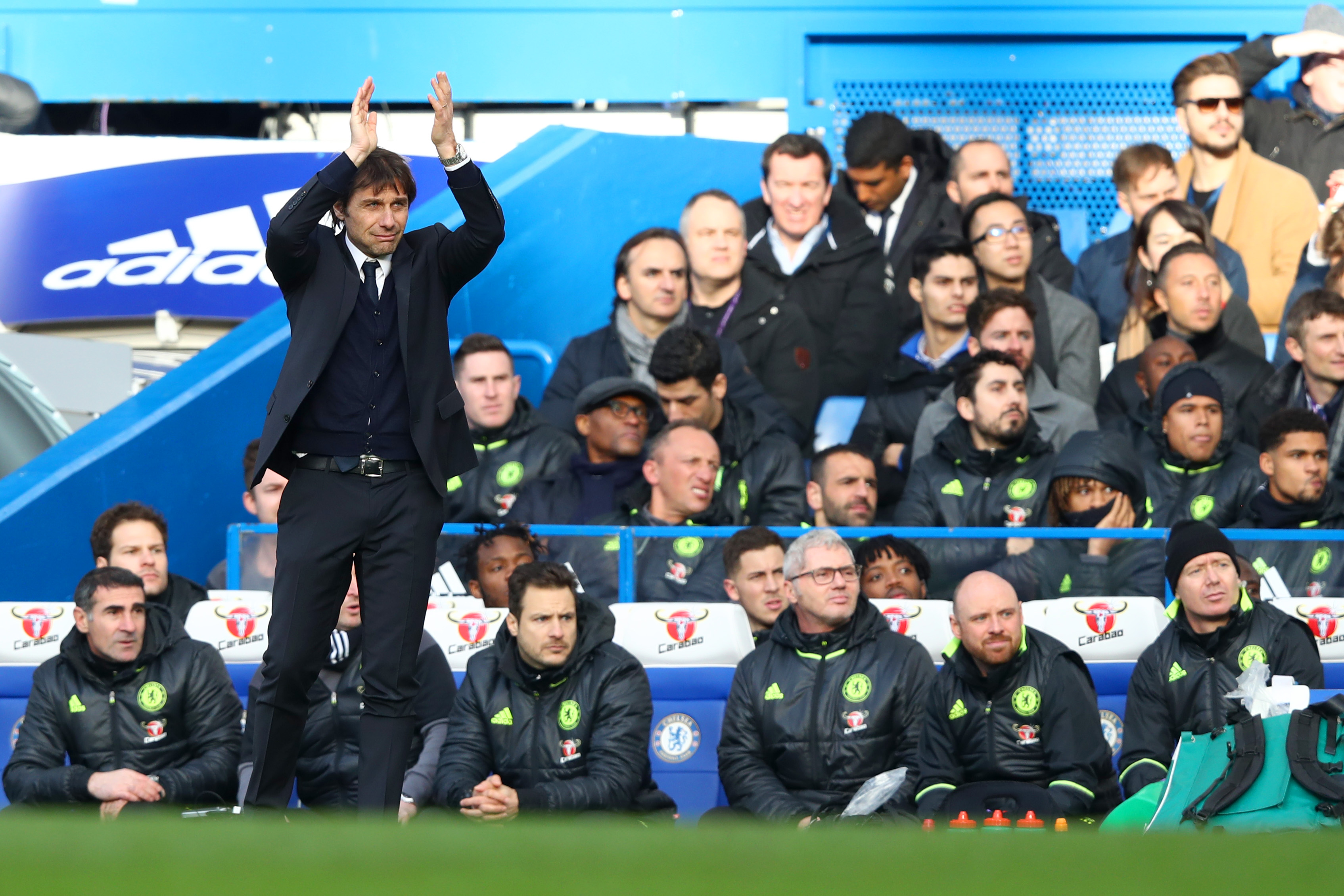 Burnley v Chelsea: Conte's side to maintain title charge with narrow win