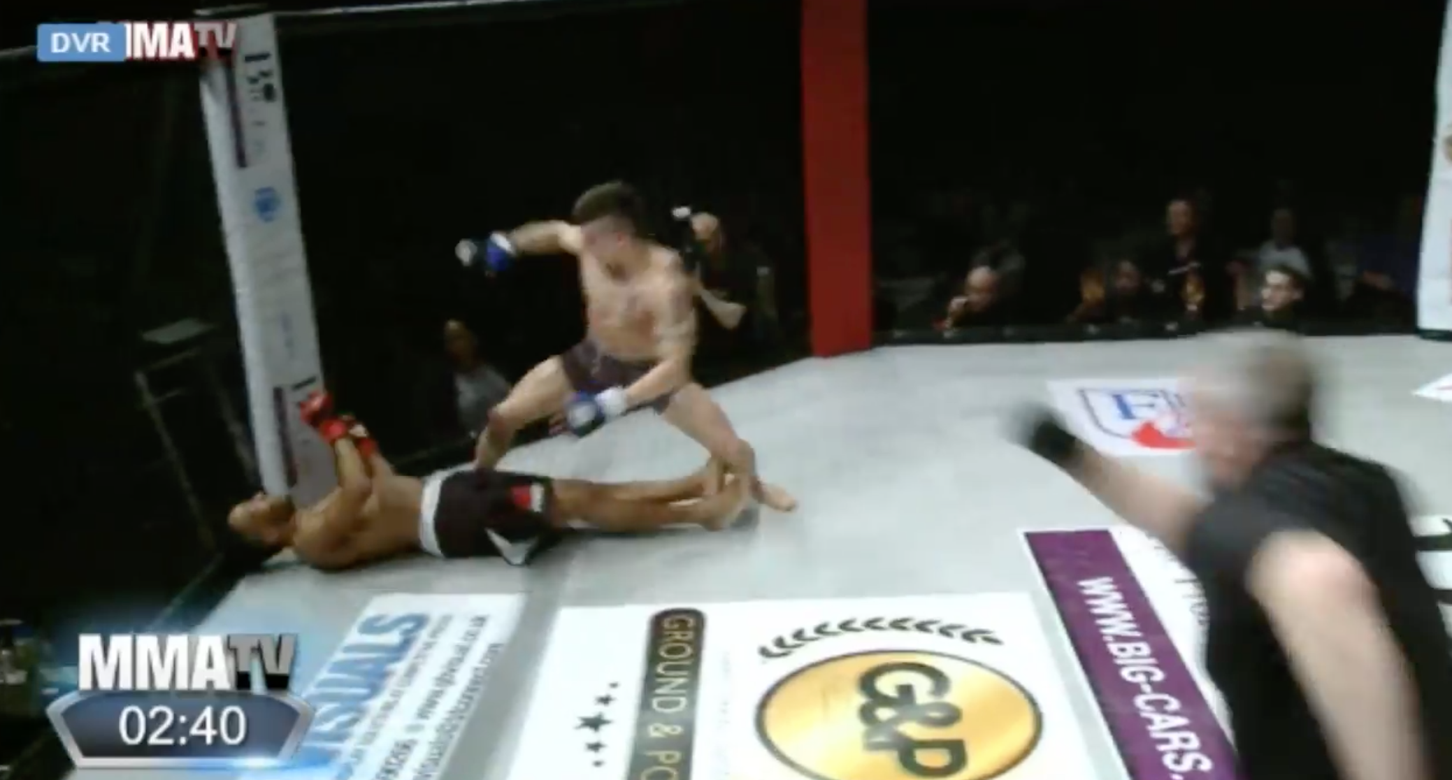 Showboating MMA fighter brutally knocked out