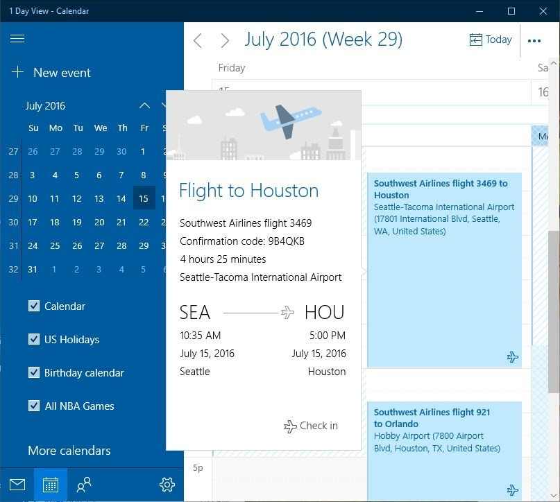 Microsoft Launches Big Updates to Windows 10 Mail & Calendar Apps