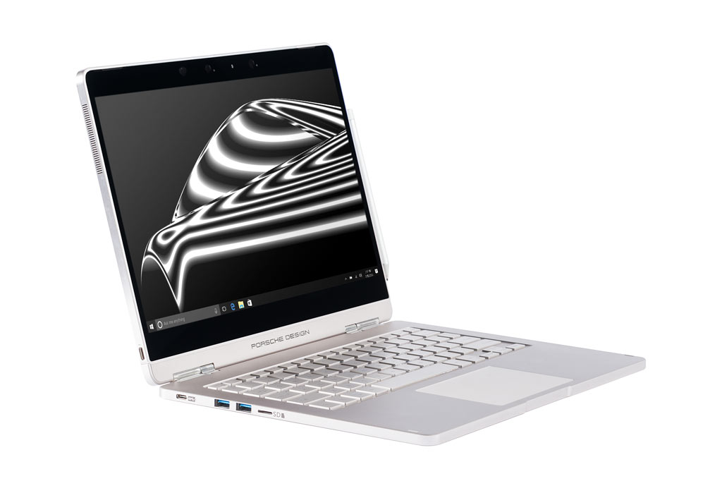 porsche design 39 s new laptop is like a surface book that. Black Bedroom Furniture Sets. Home Design Ideas