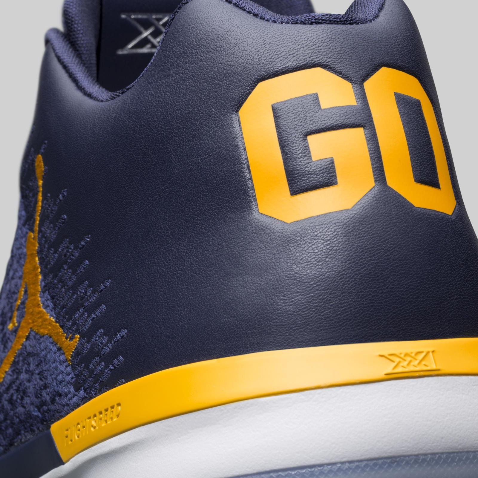 Nike debuts Michigan Wolverines Air Jordan XXXI Low PEs - Maize n Brew 7181c071d