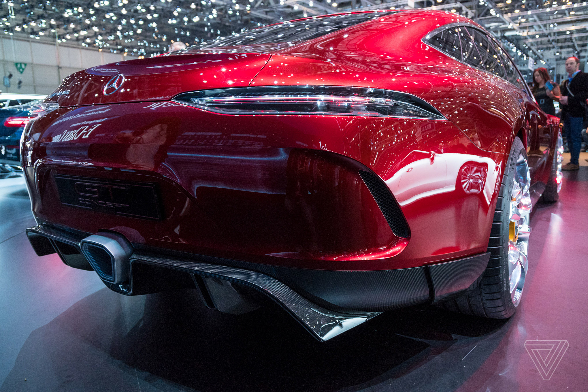 Up close with the mercedes amg gt concept the verge for New mercedes benz concept