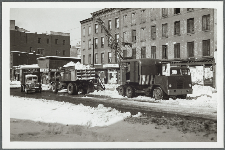Vintage Photos From 140 Years Of Nyc Snowstorms Curbed Ny