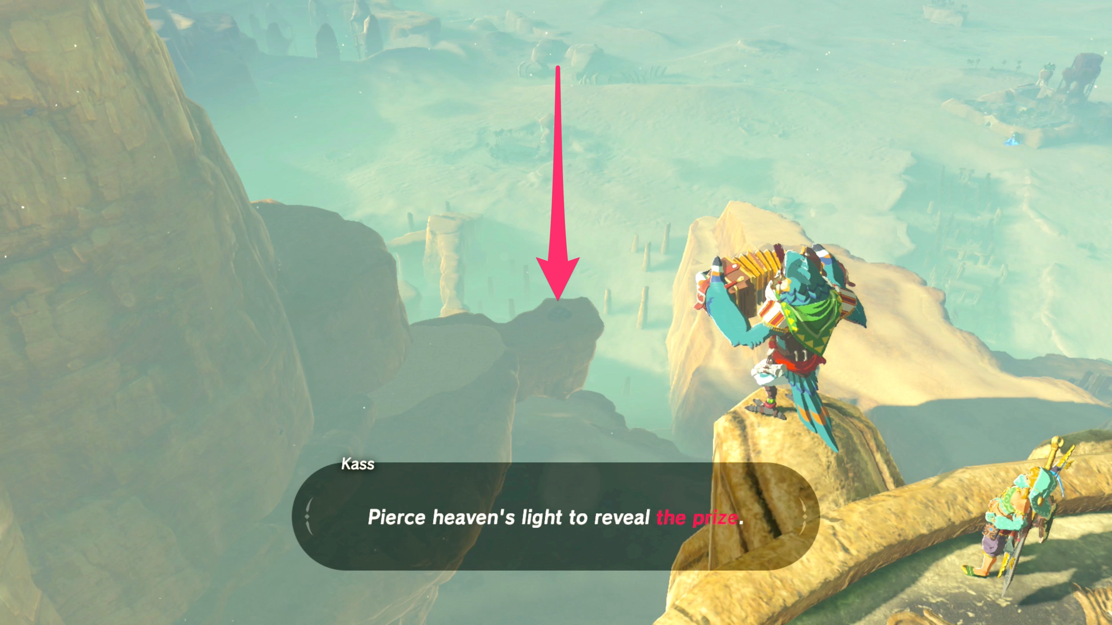 Zelda Breath Of The Wild Guide Sign Of The Shadow Shrine Quest
