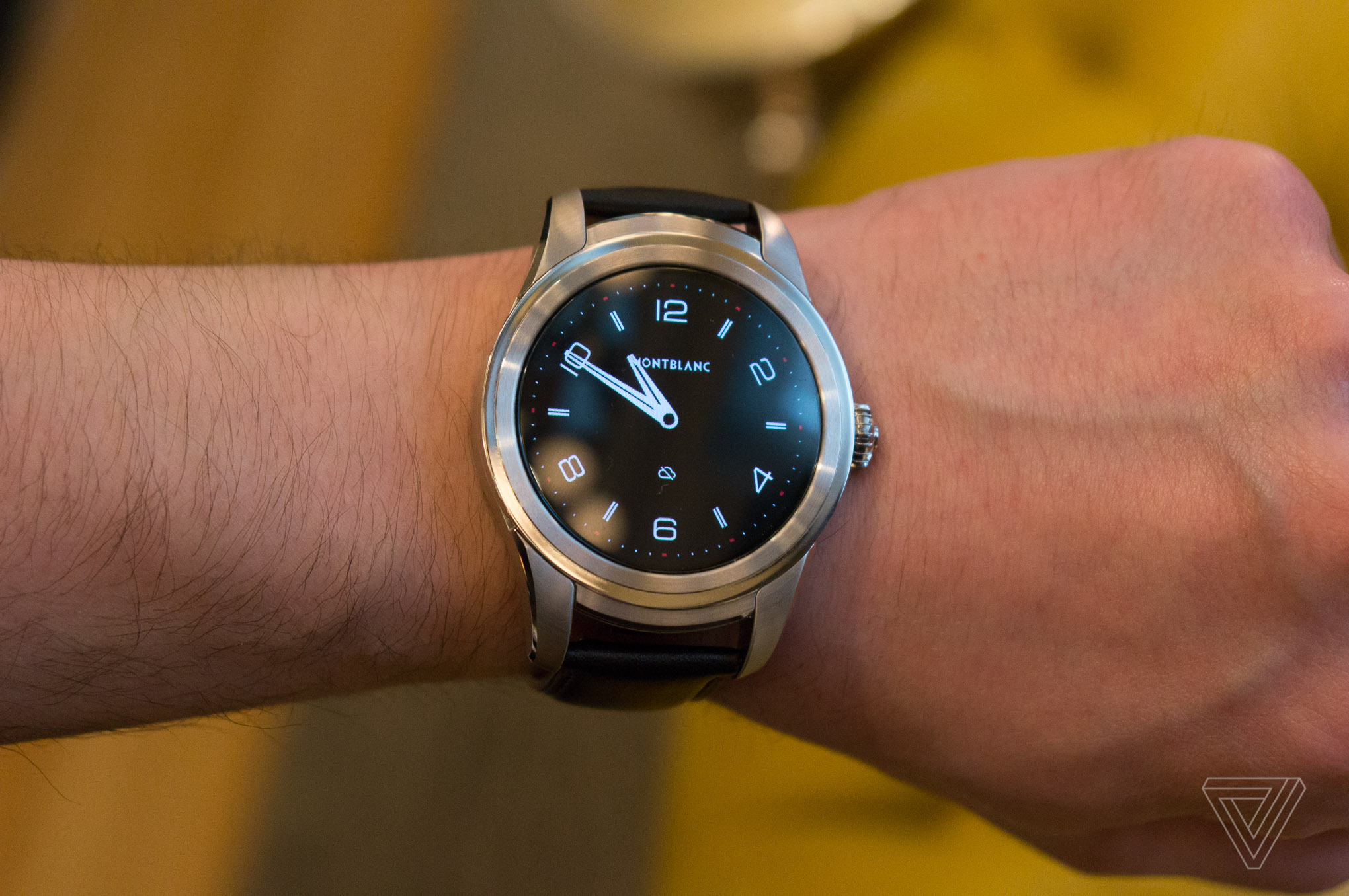 Montblanc S First Smartwatch Is A Big Lump Of Android Wear
