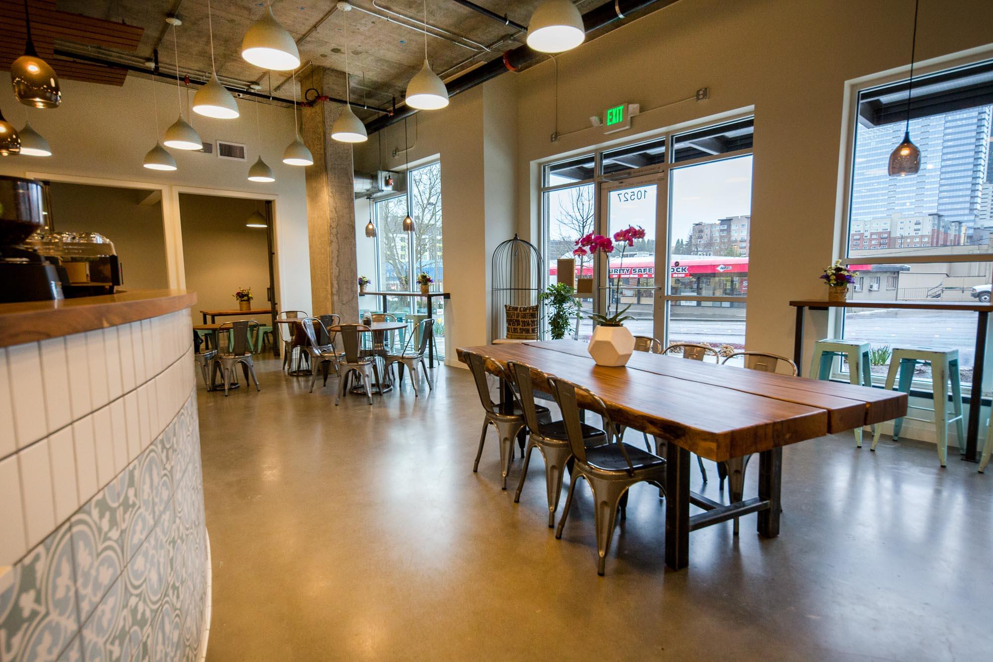 peek inside bellevue's new community-oriented coffee shop - eater