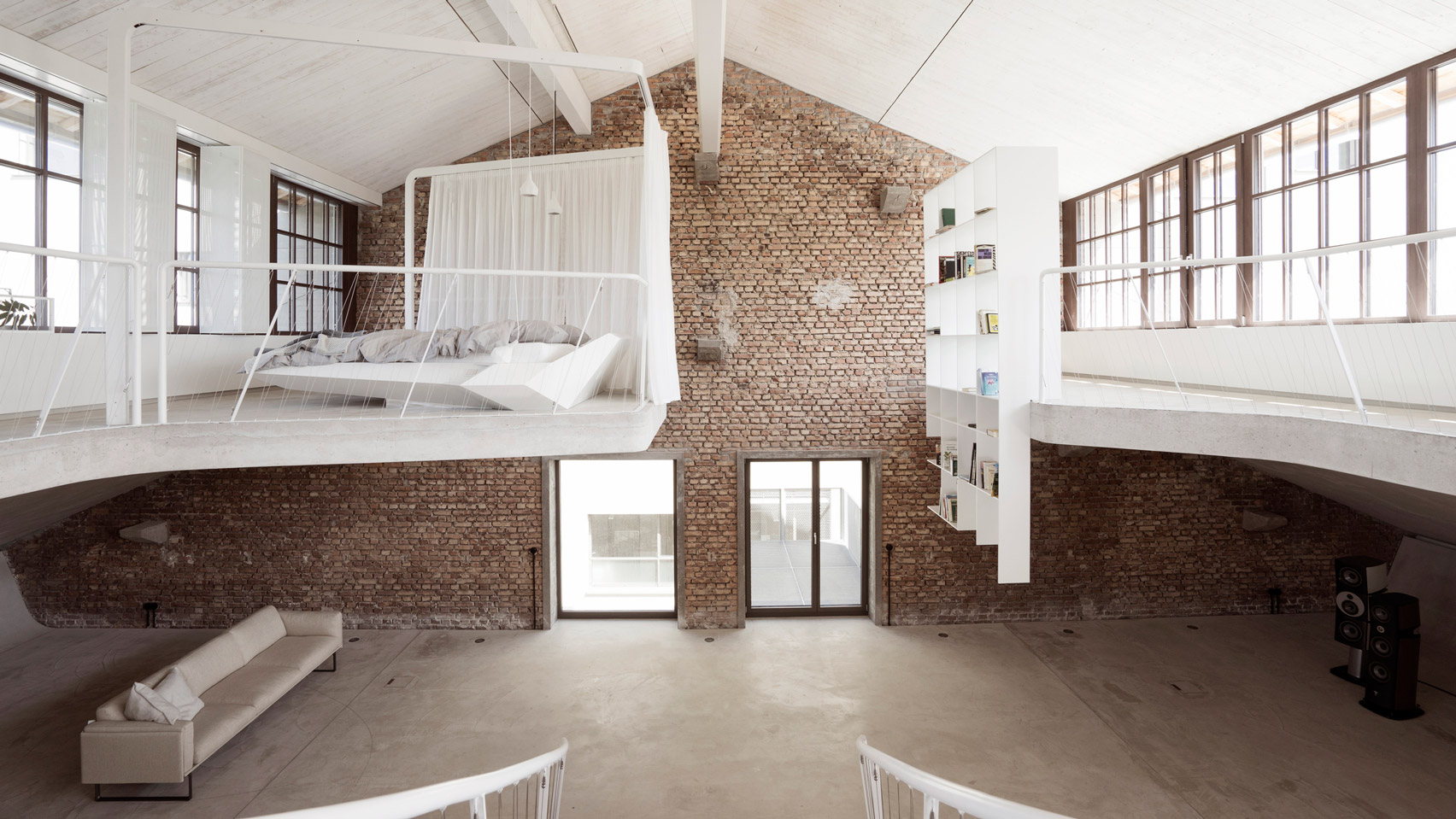 Loft Apartment In A Former Tank Station In The Austrian