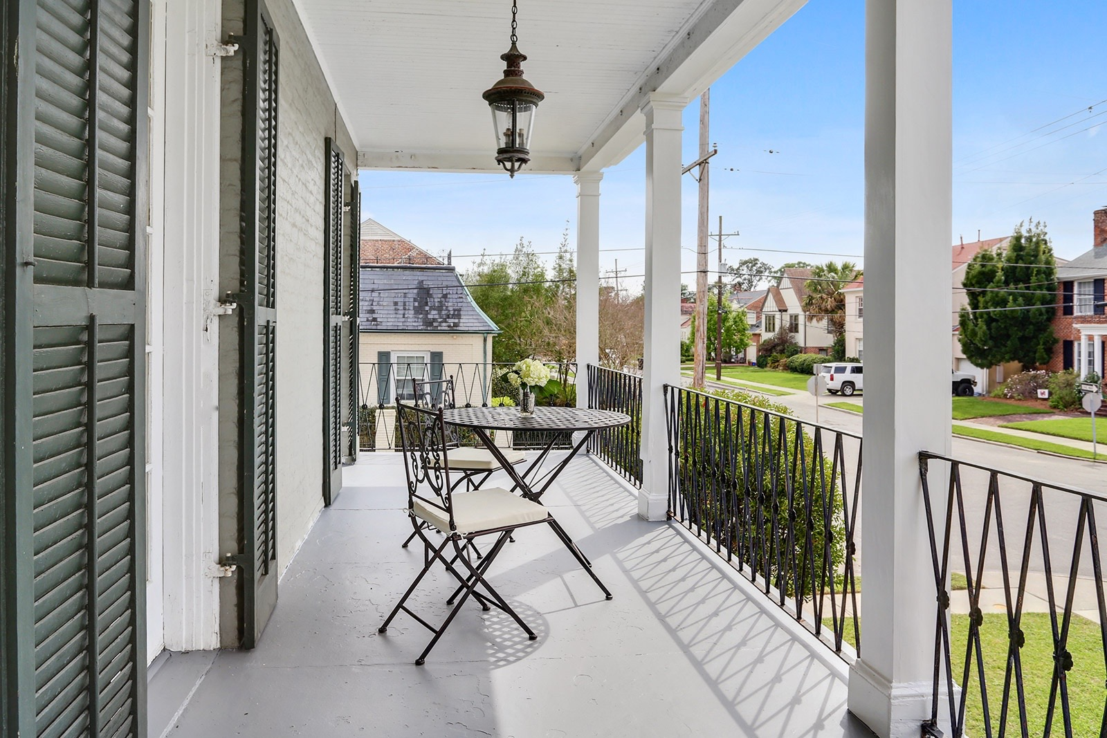 Arcadian styled home on oversized lot asks 875k curbed for The balcony menu