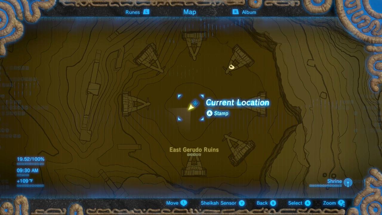 Zelda Breath Of The Wild Guide Korsh Ohu Shrine Location